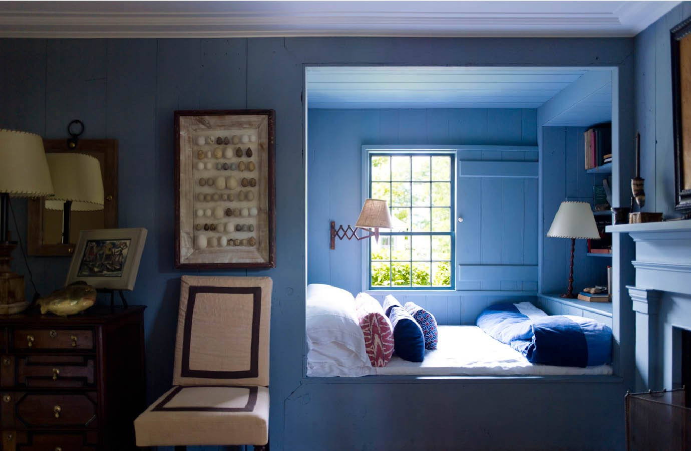 Steven Gambrel Bedroom Nook