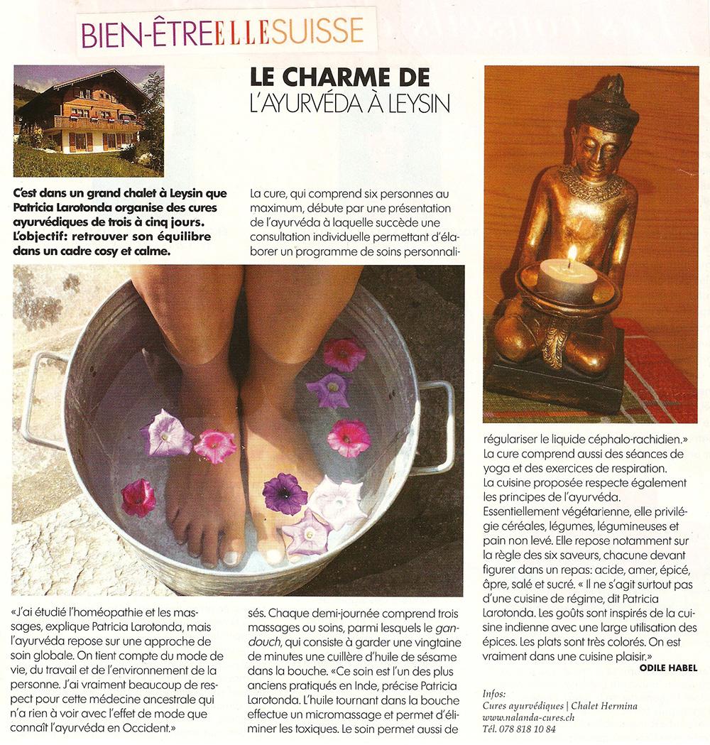 ELLE Suisse Magazine ·Juillet 2008