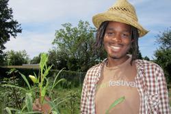 Crop Management Co-Instructor Chris Bolden Newsome