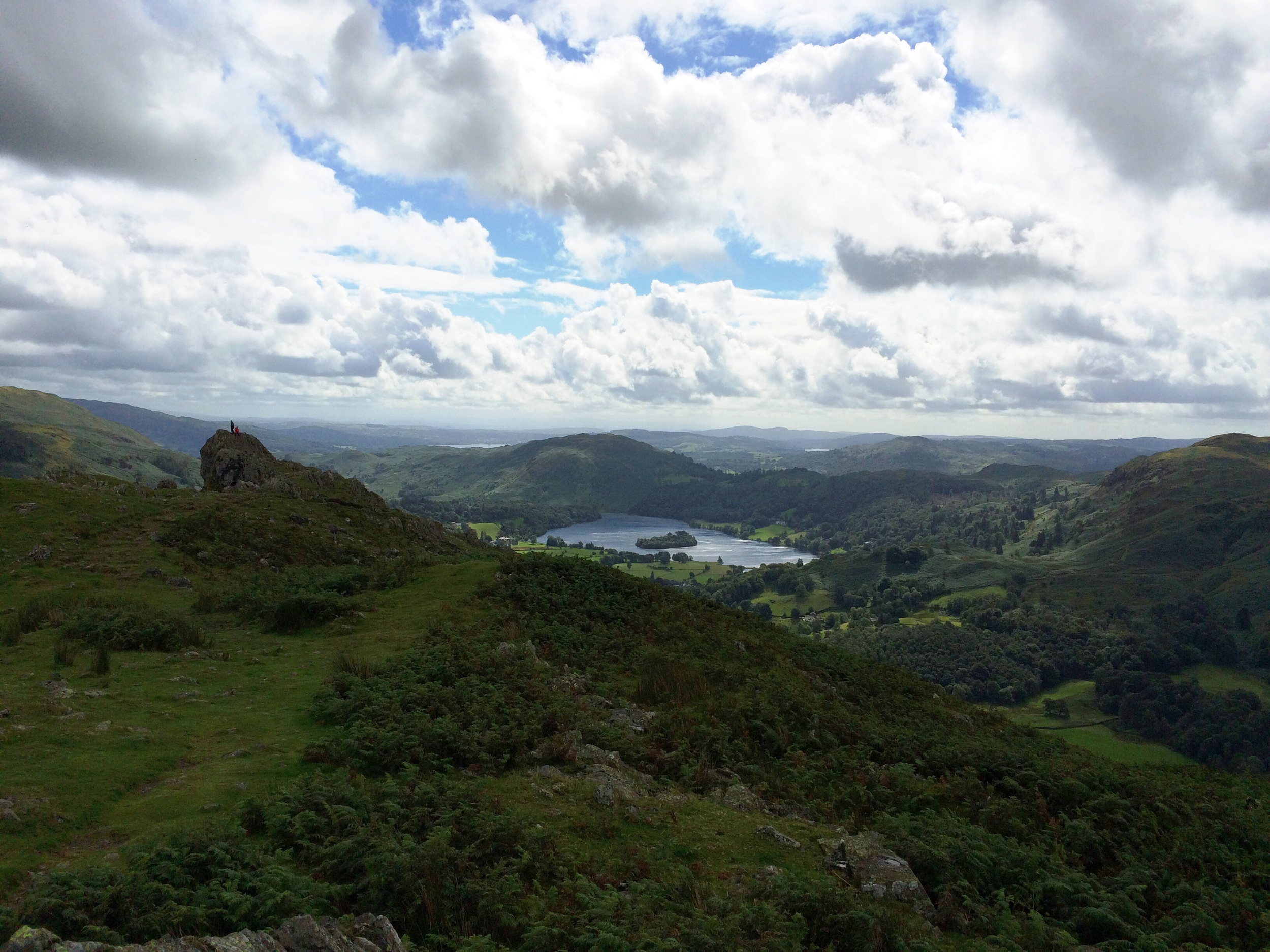 Grasmere from Helm Crag