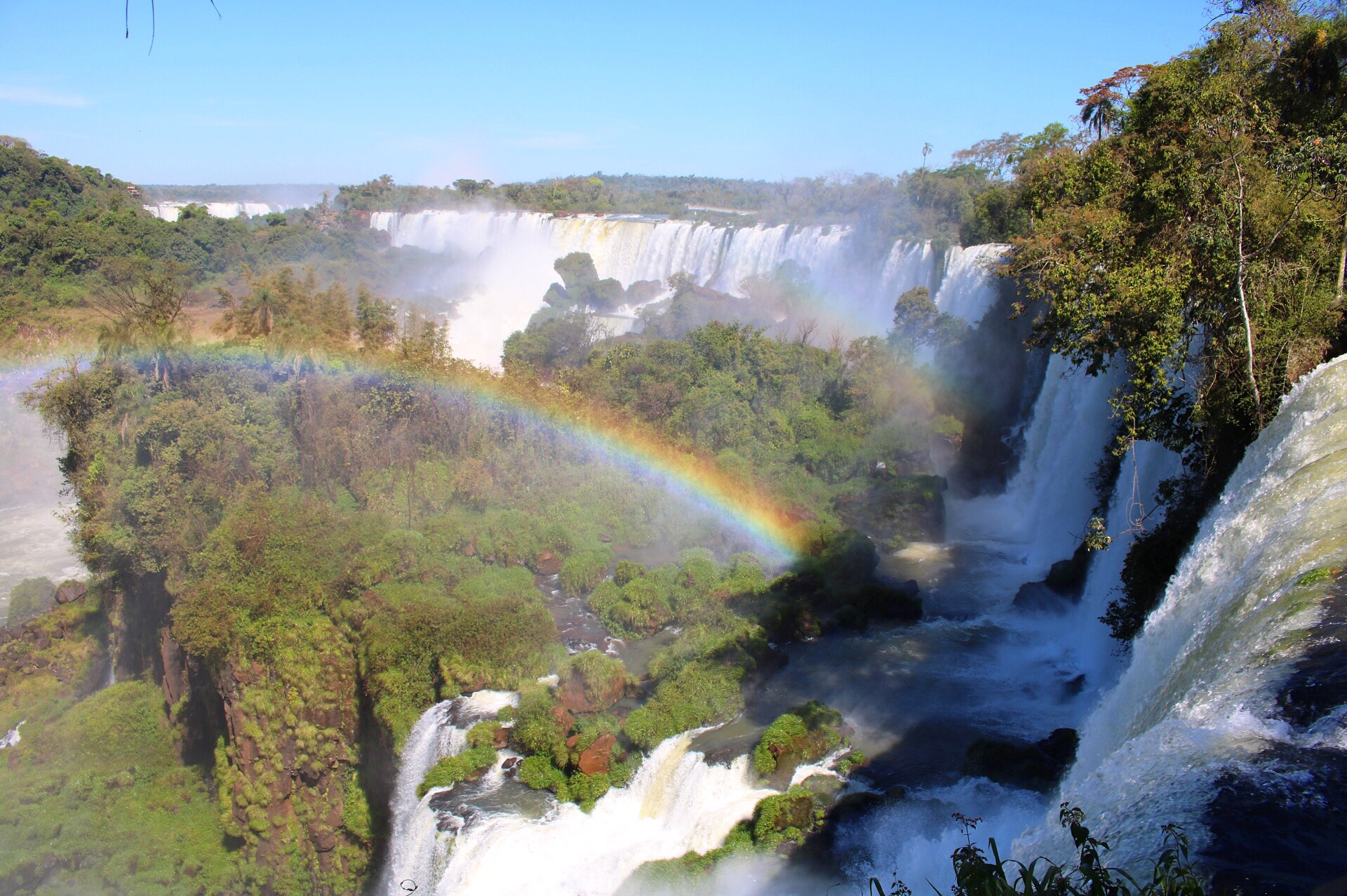Falls from Argentina