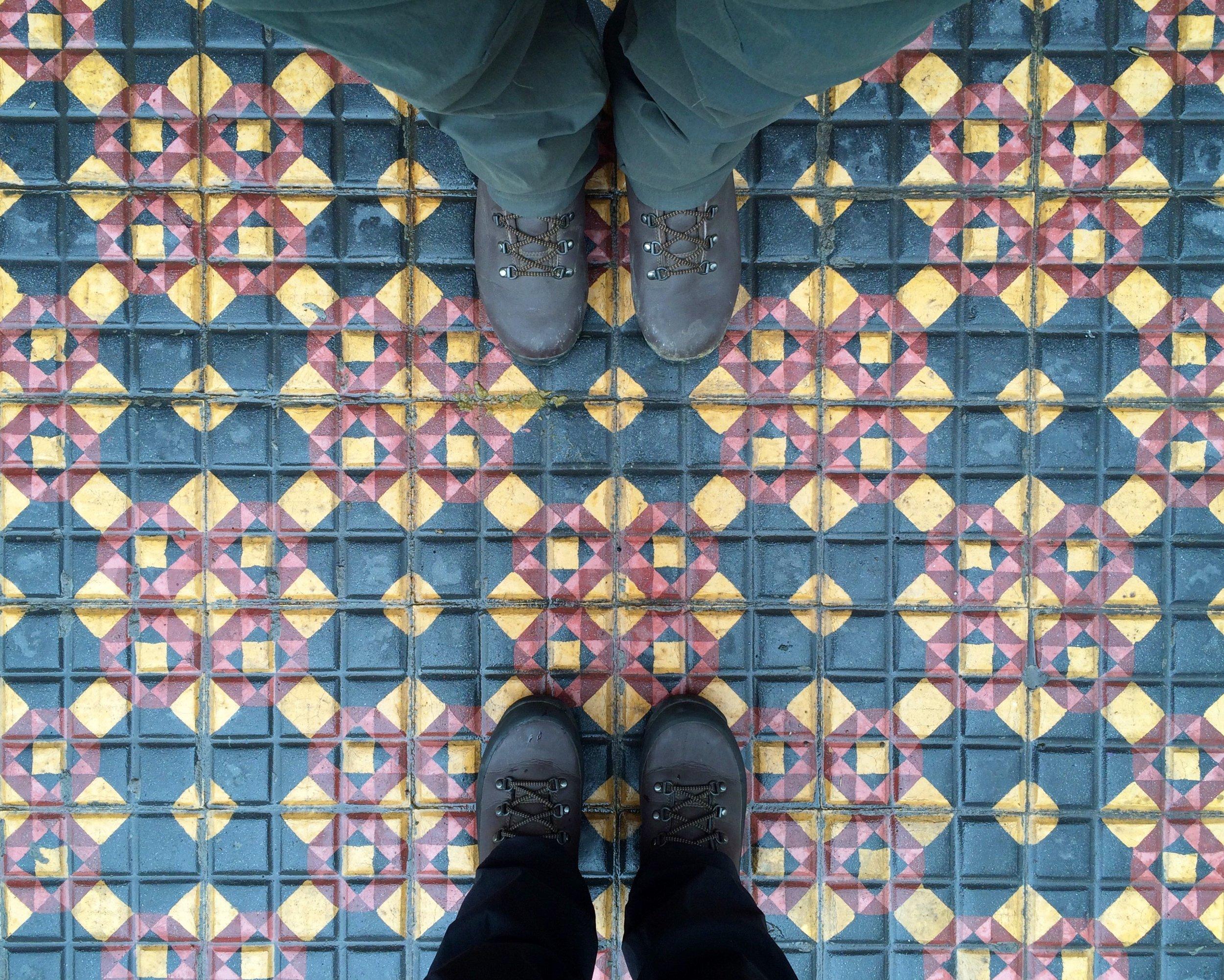 Tiles in San Telmo