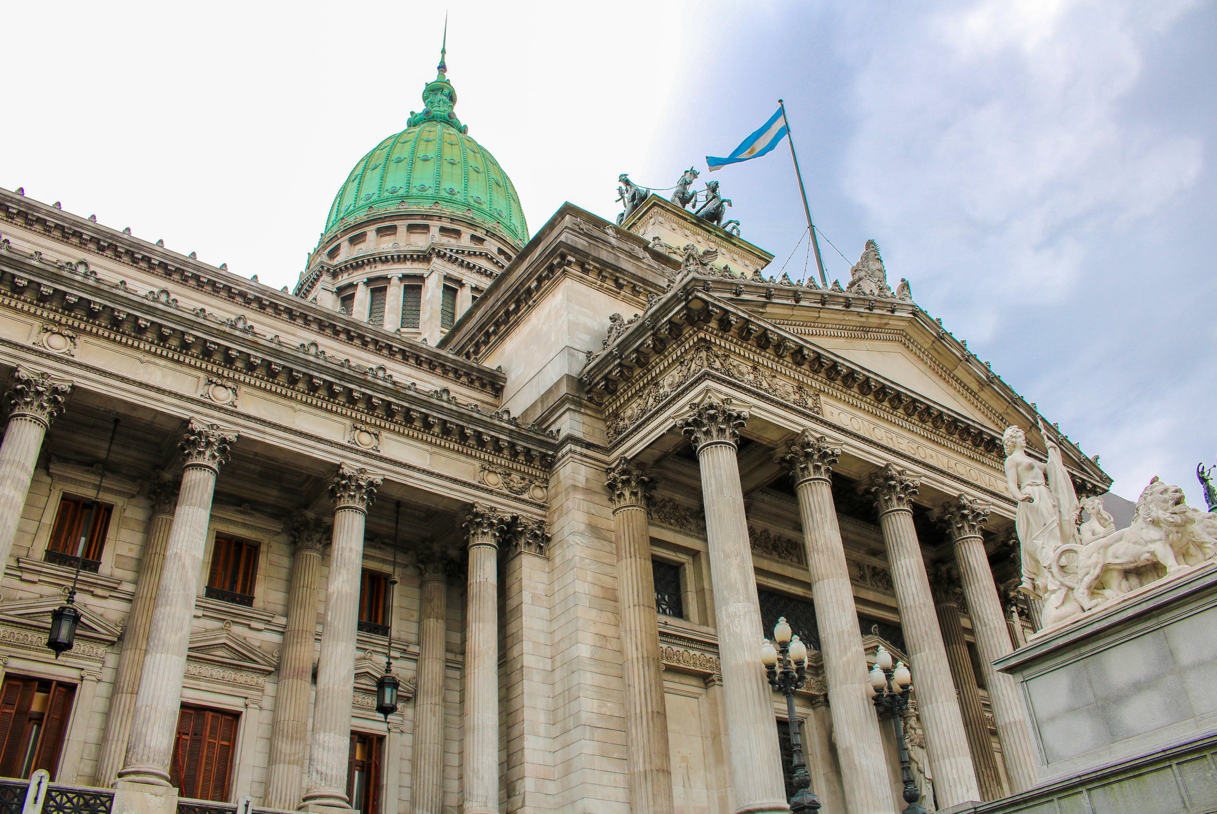 The Palace of the Argentine National Congress