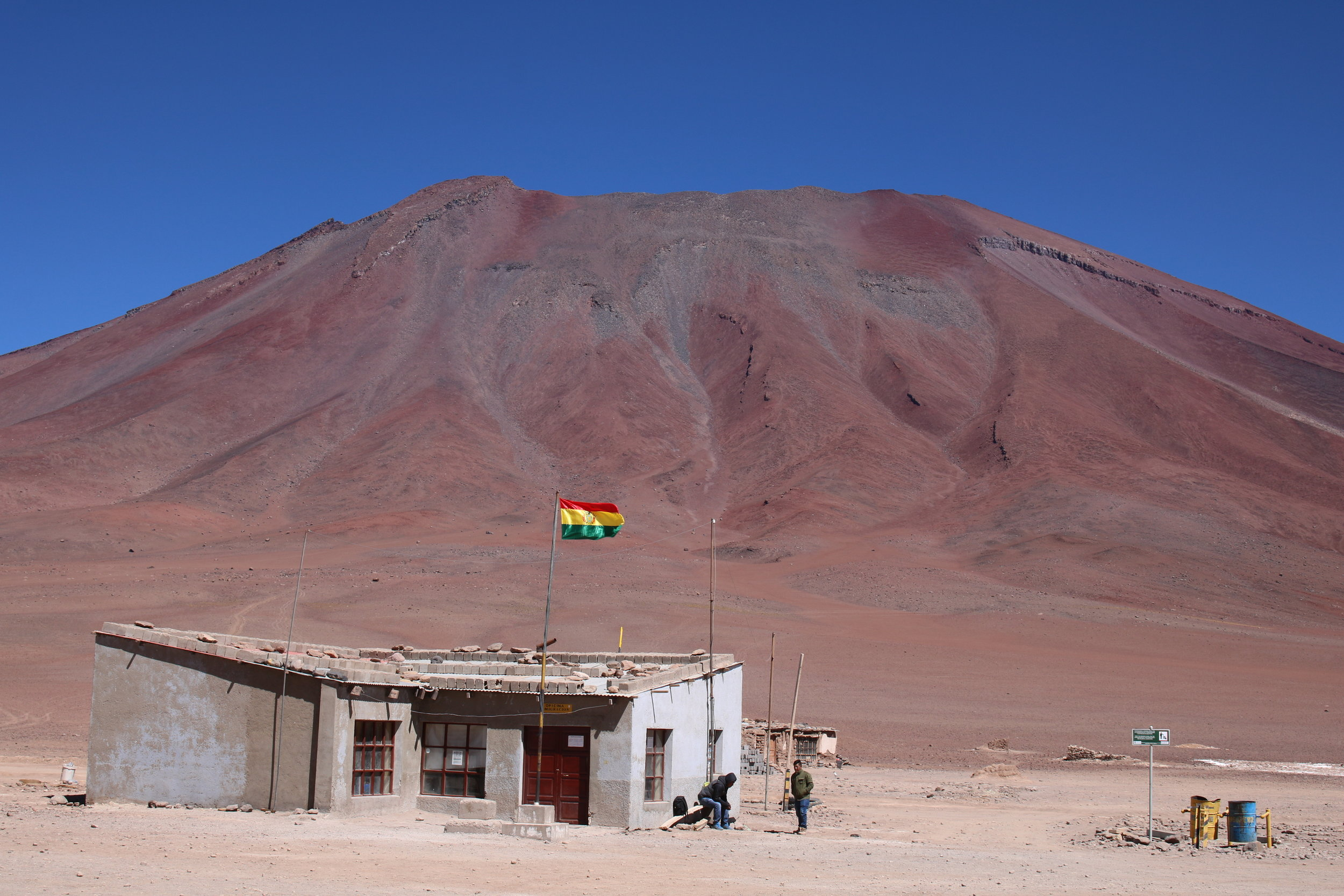 Bolivia Border Crossing