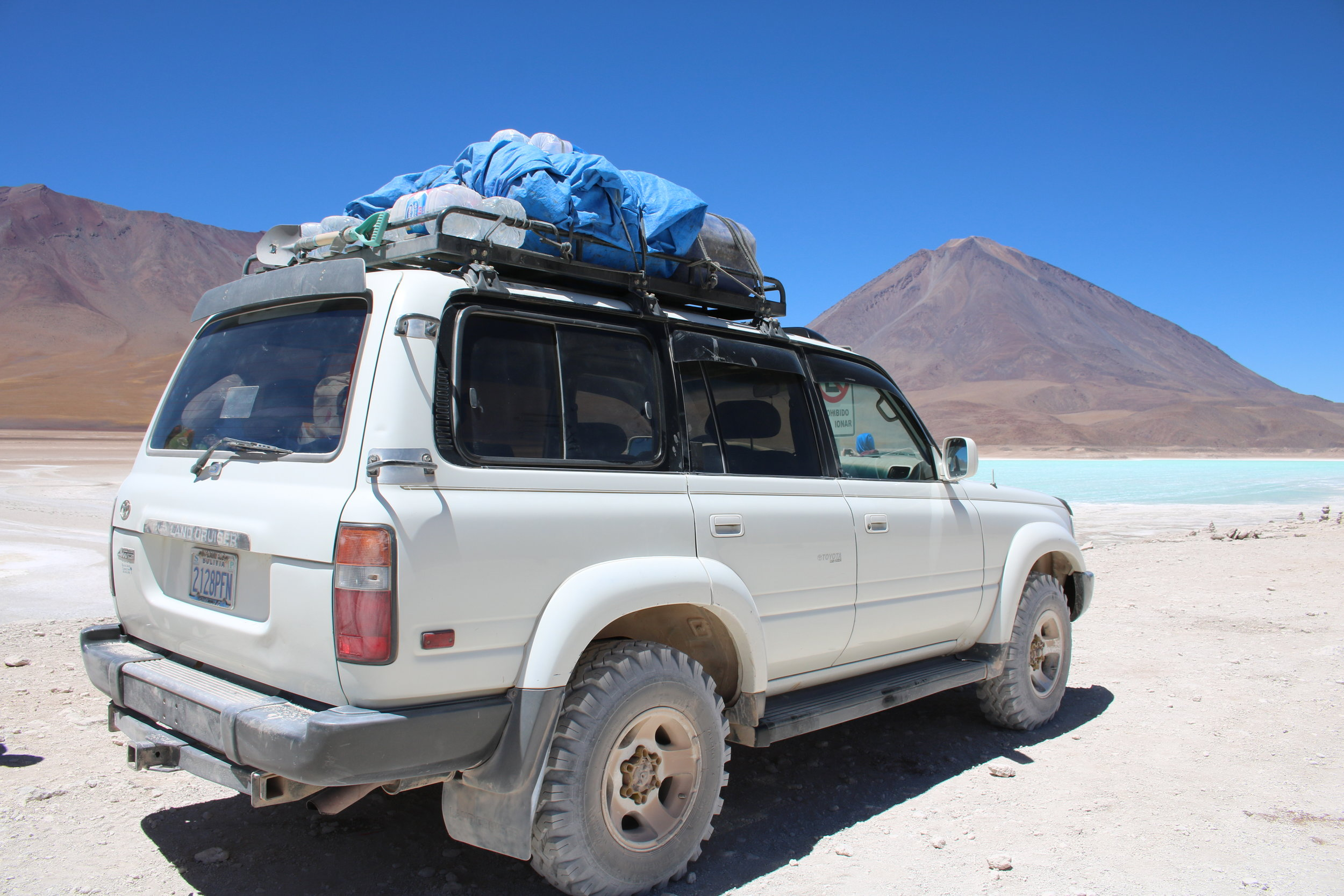 Salar de Uyuni Jeep