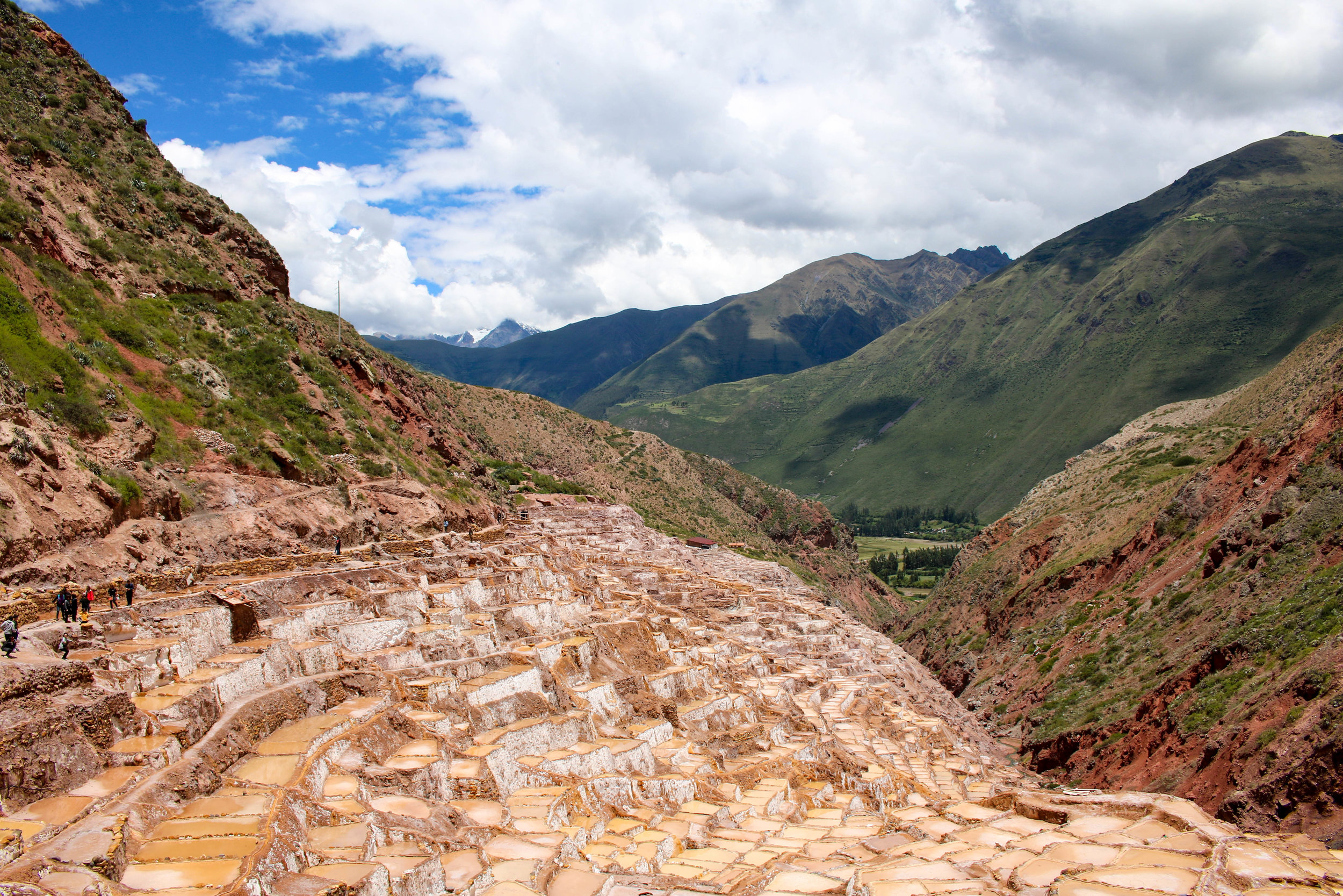Salineras de Maras in the Sacred Valley, Peru