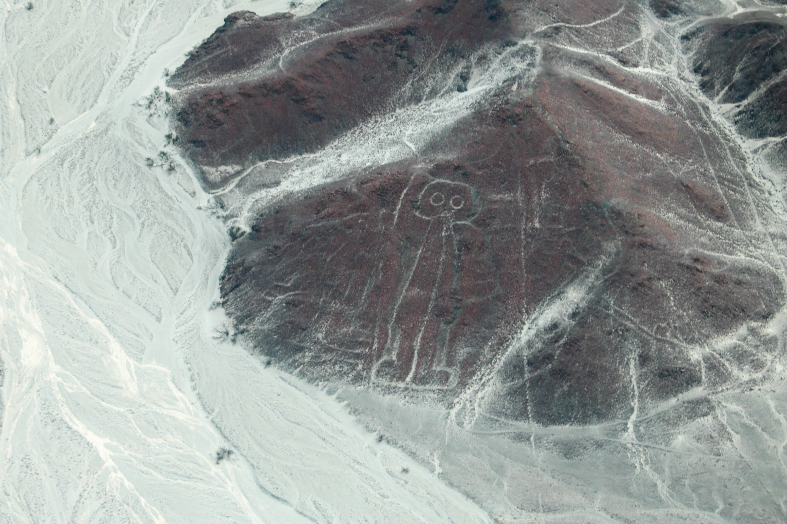 The Astronaut at Nazca, Peru