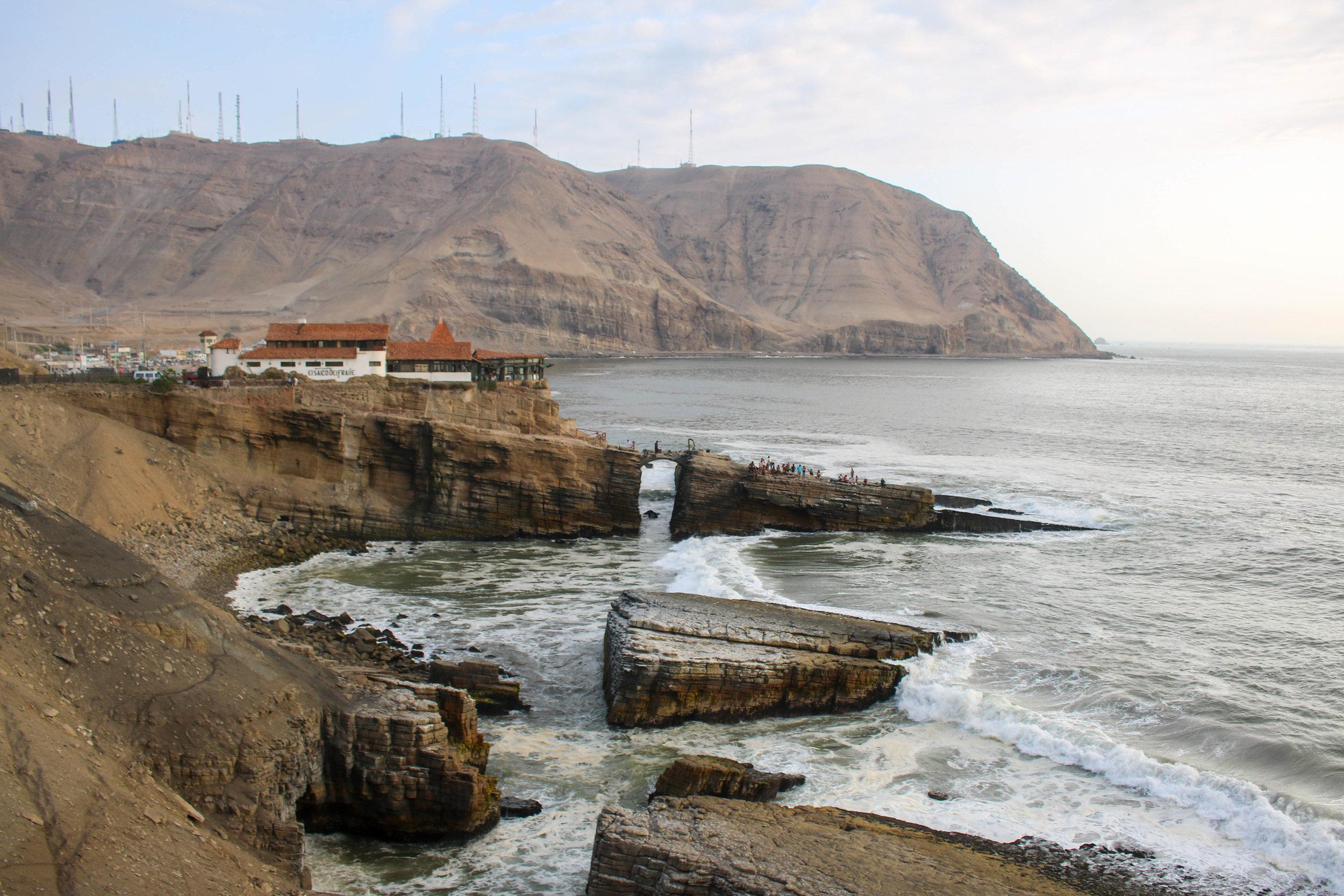 The Lima Coastline, Peru