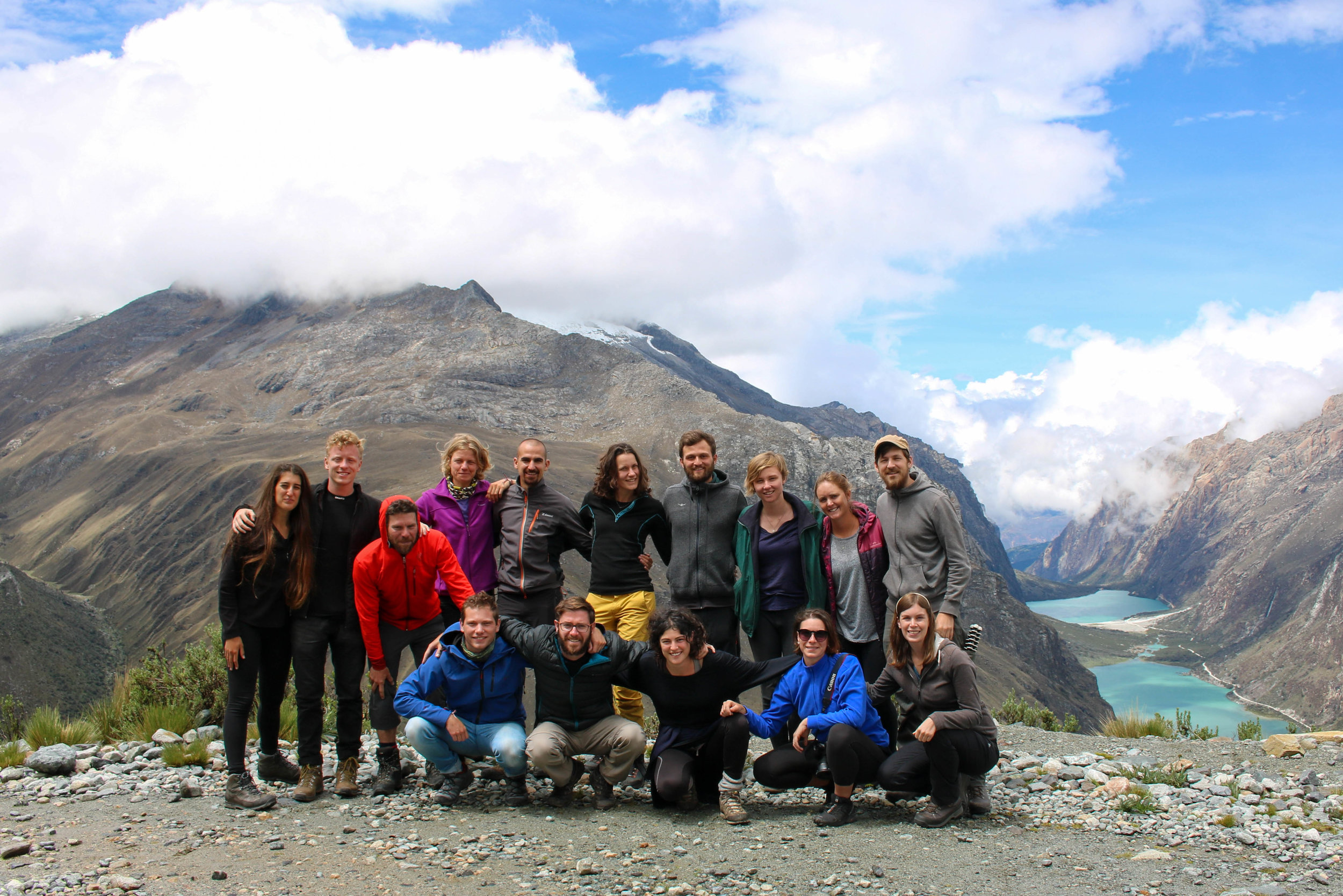 Our Santa Cruz Trekking Group, Peru