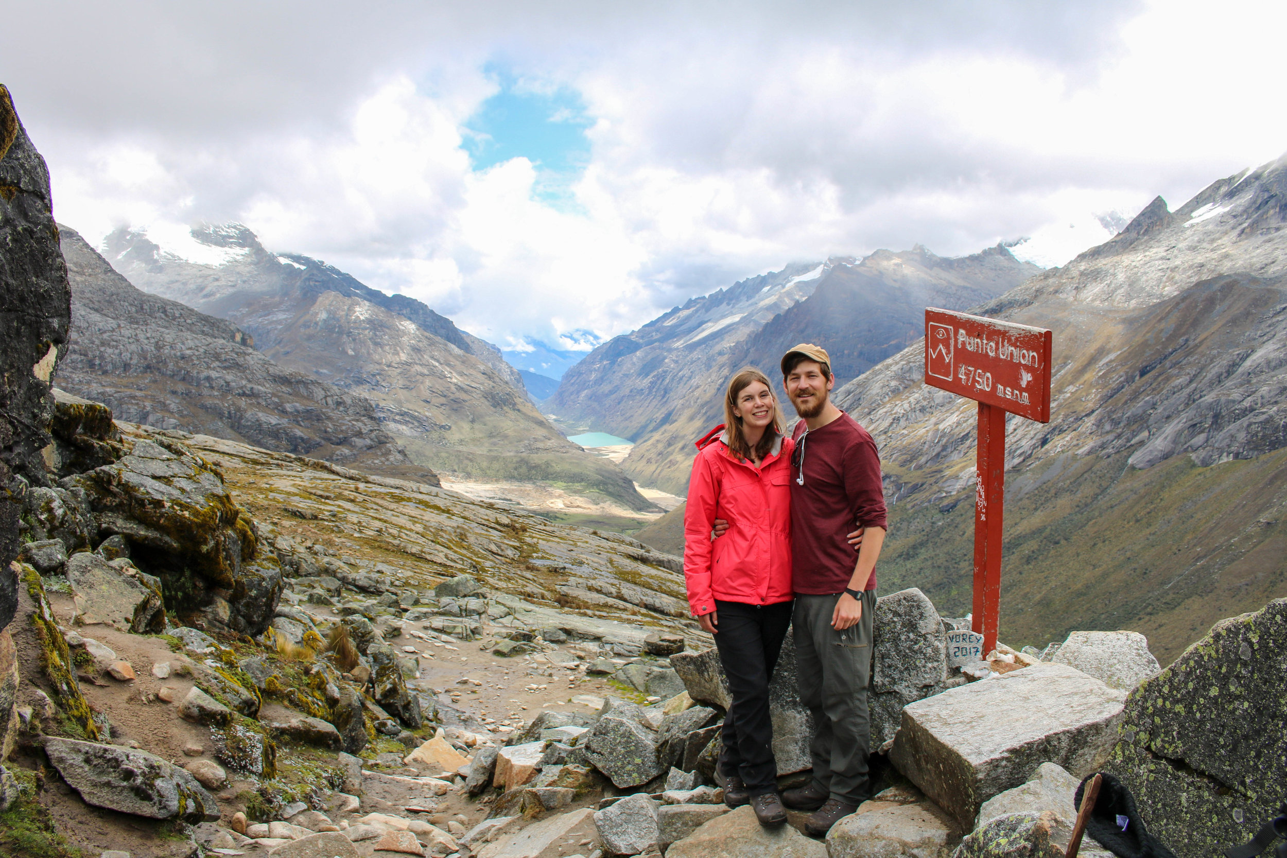 In It Together, Us at Punta Union Pass, Peru