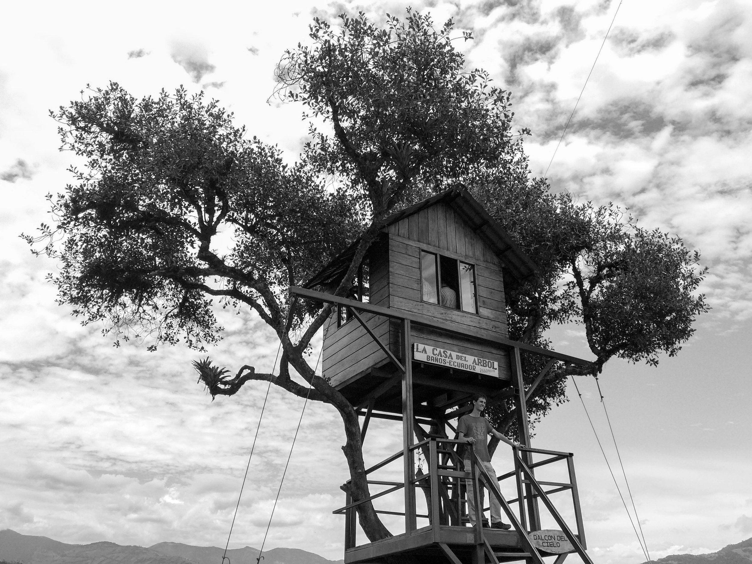 La Casa Del Arbol, Baños in Ecuador