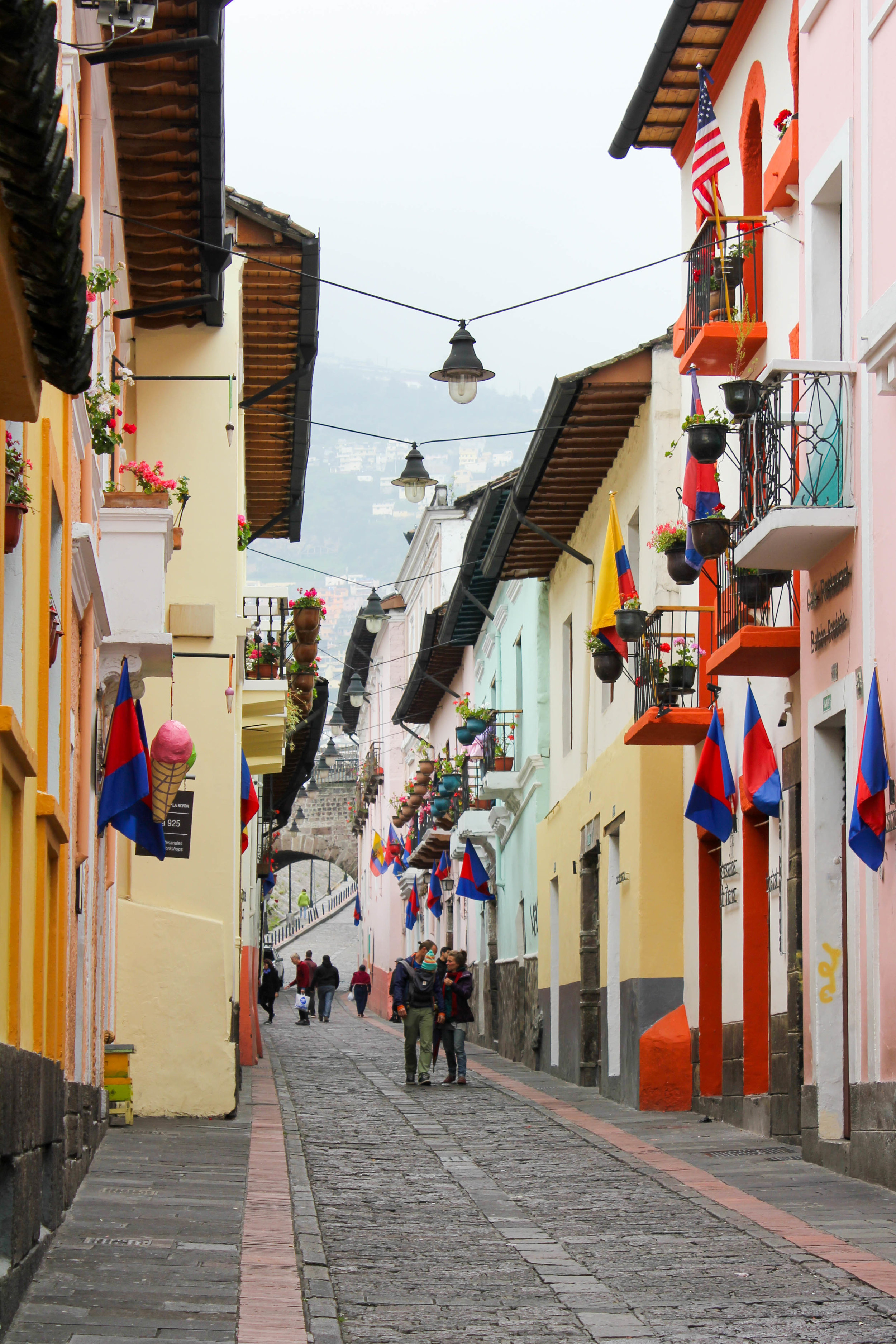 Colourful Quito in Ecuador
