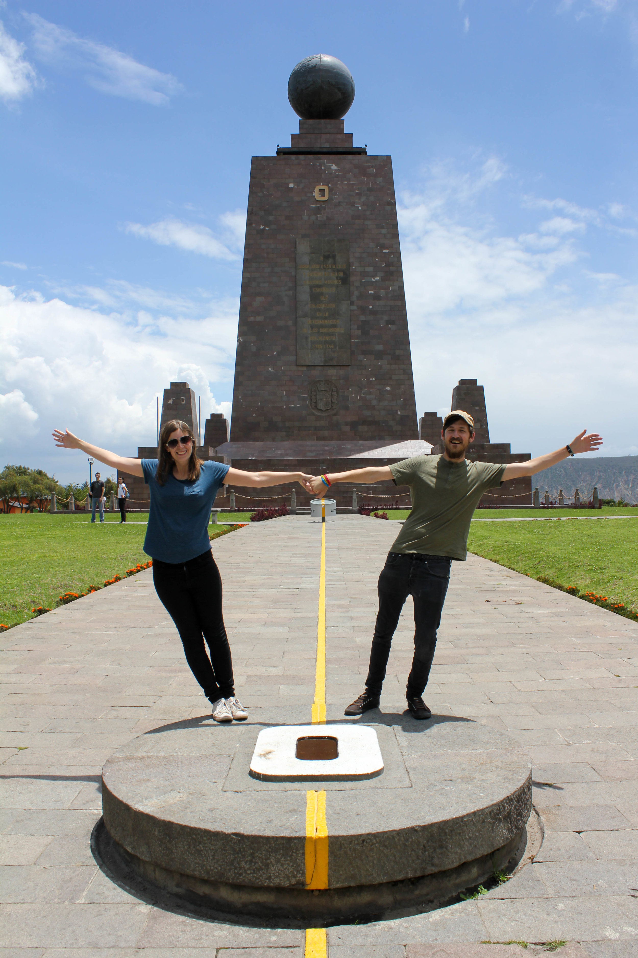 Fun at The Equator Line