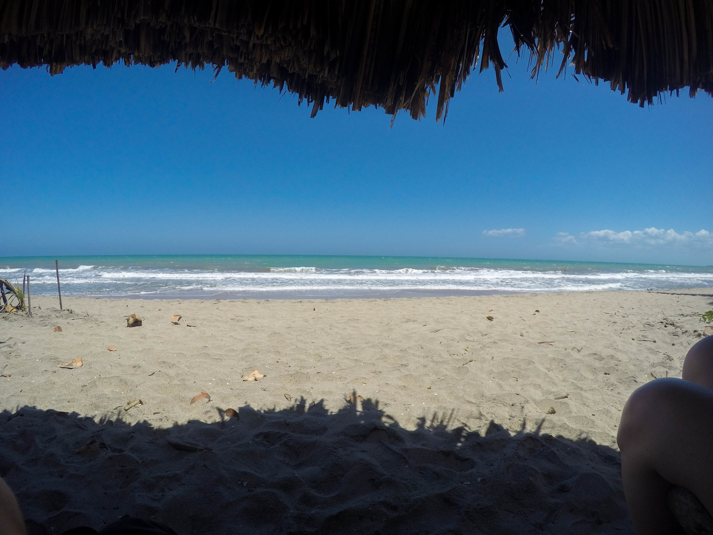 A Day At The Beach in Palomino, Colombia