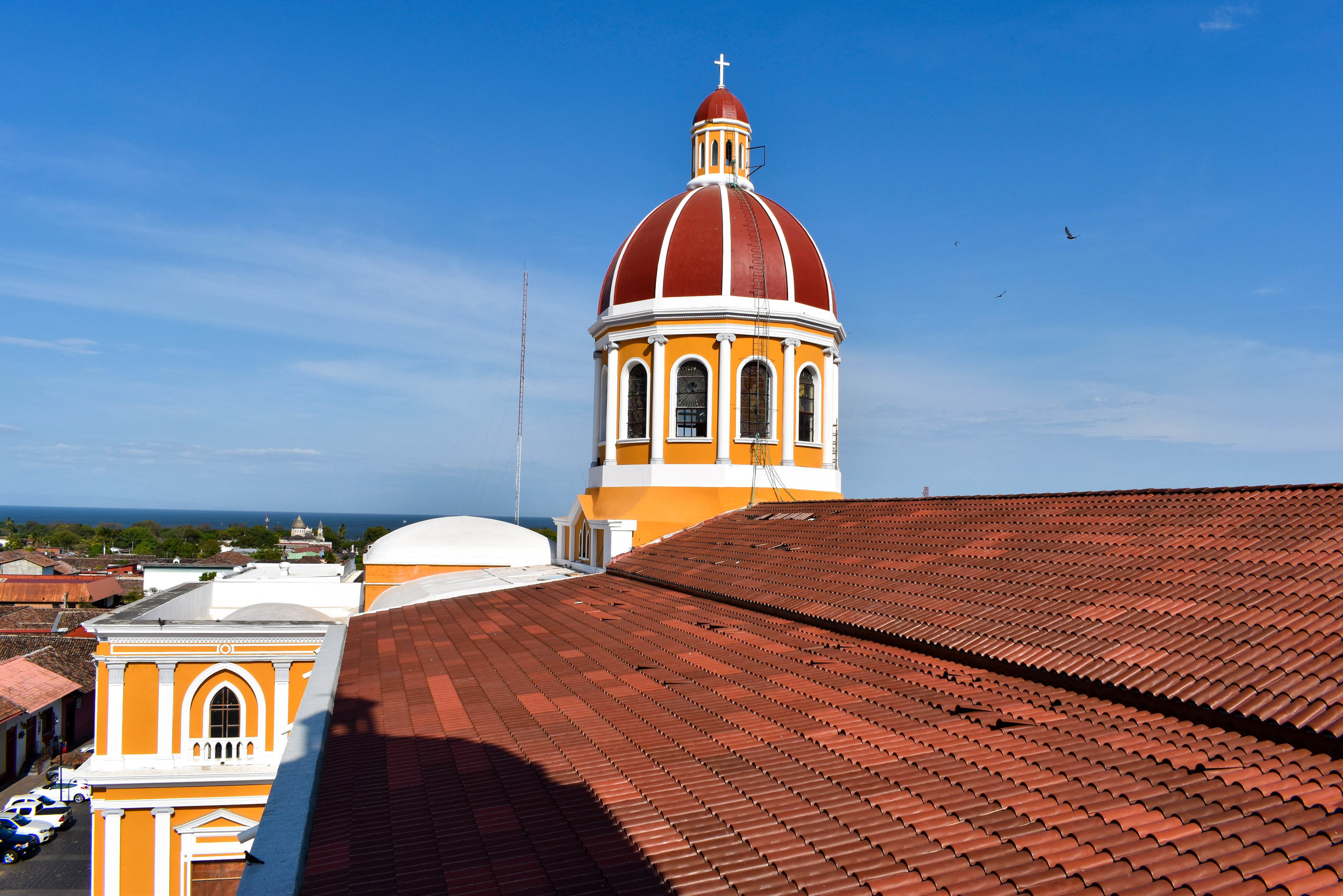 From The Bell Tower in Historic Granada, Nicaragua