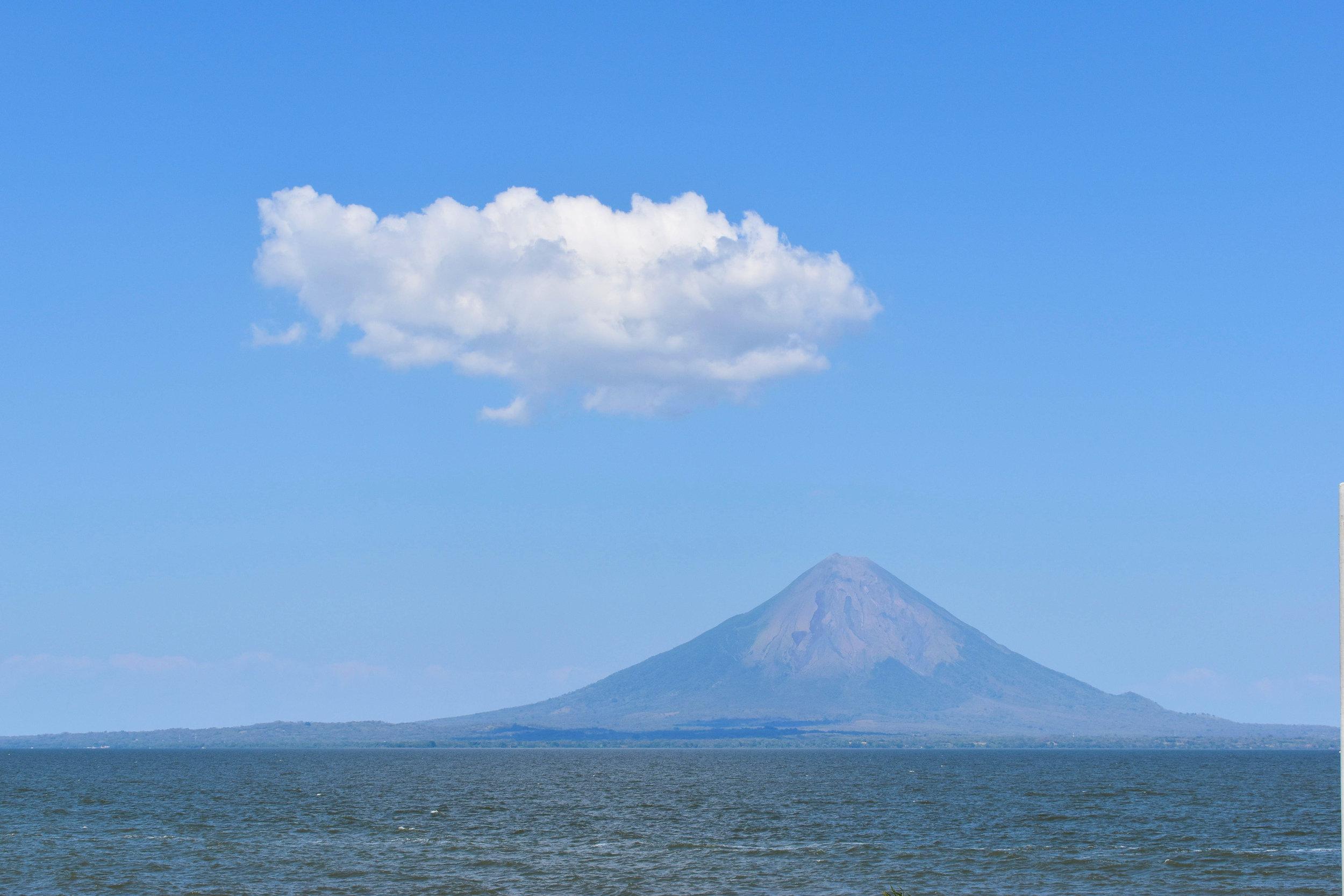 Volcano Concepción on Isle de Ometepe in Nicaragua
