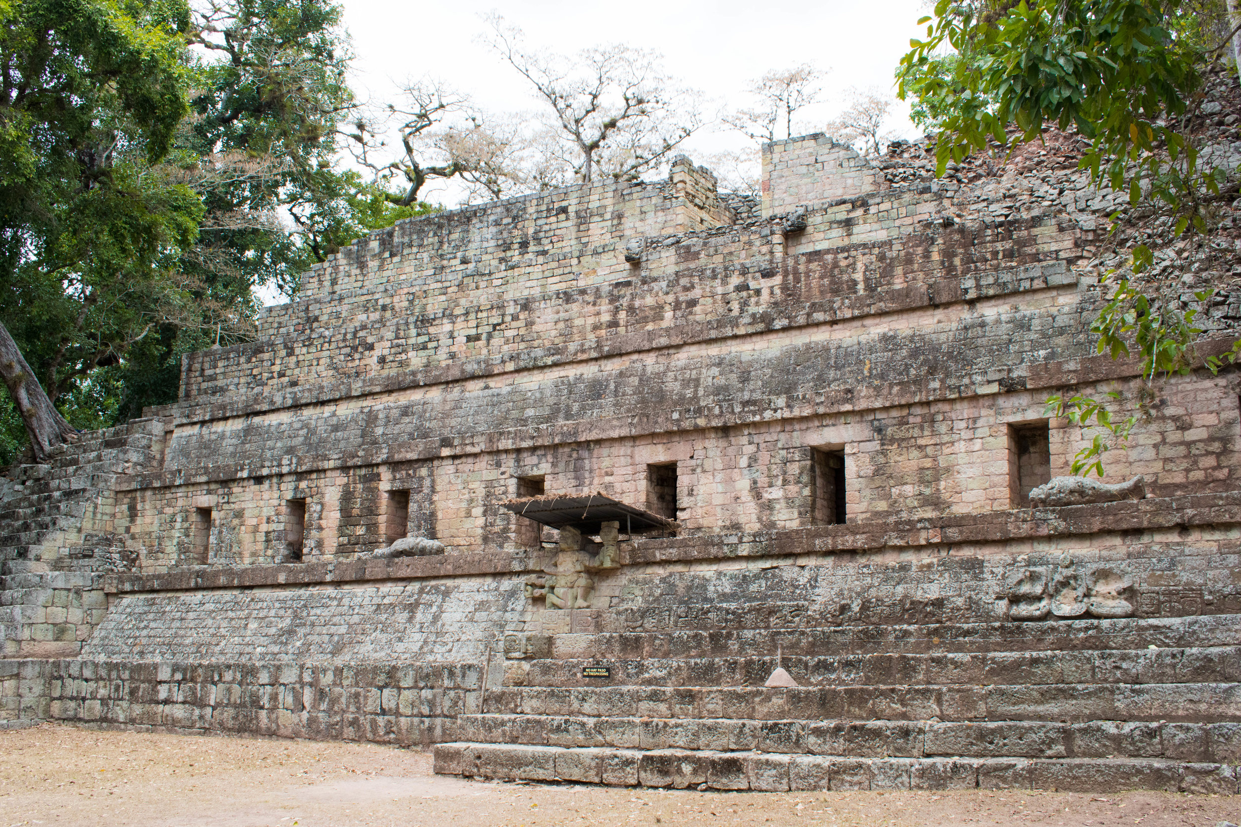 Perfectly Preserved Temples in Copán, Honduras