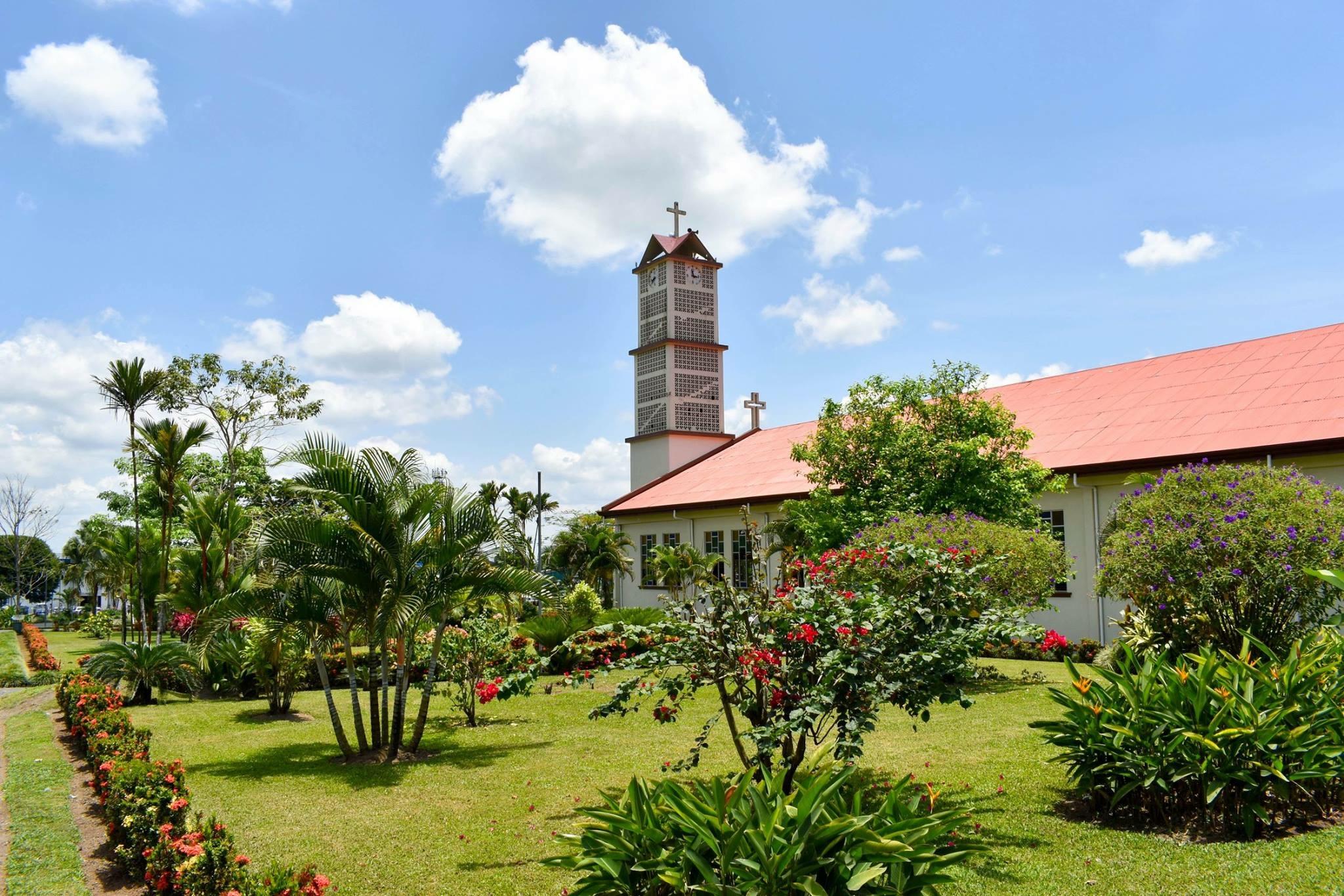 The Church of La Fortuna, Costa Rica