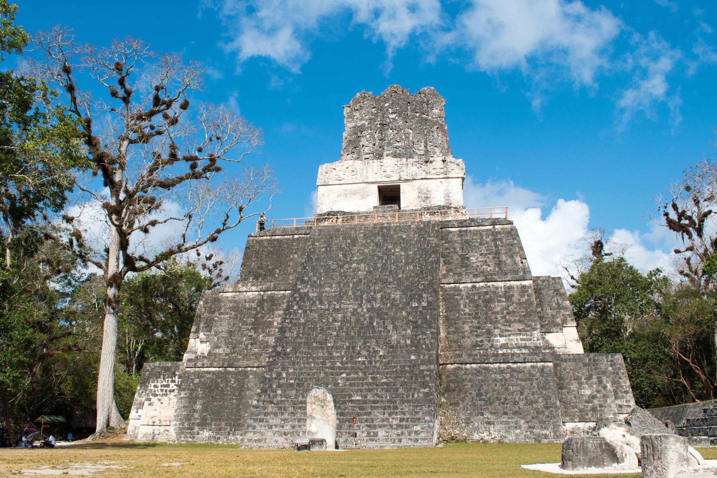 Temple II In The Morning, Tikal, Guatemala