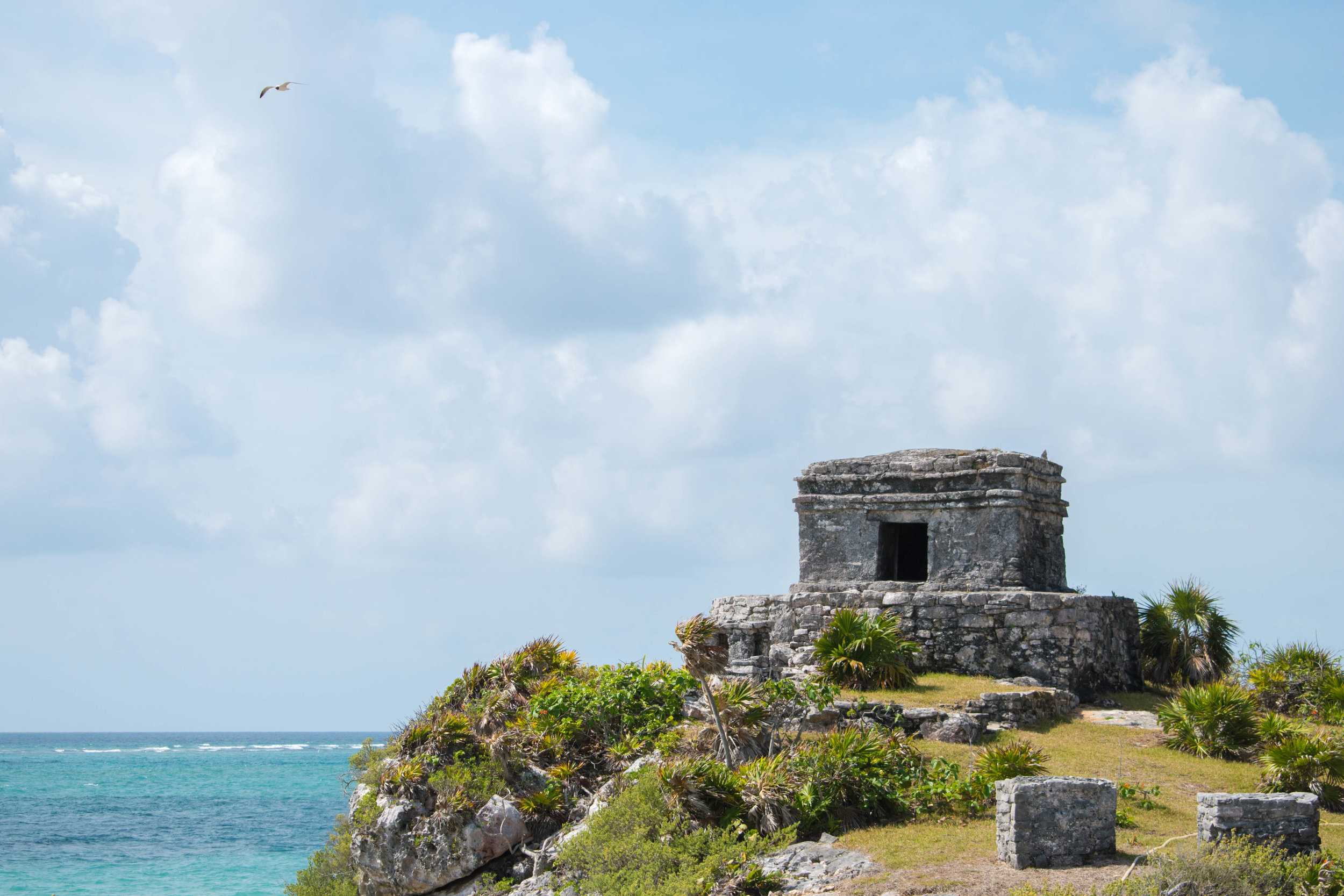 An Idyllic Location For A Mayan Ruin, Tulum in Mexico