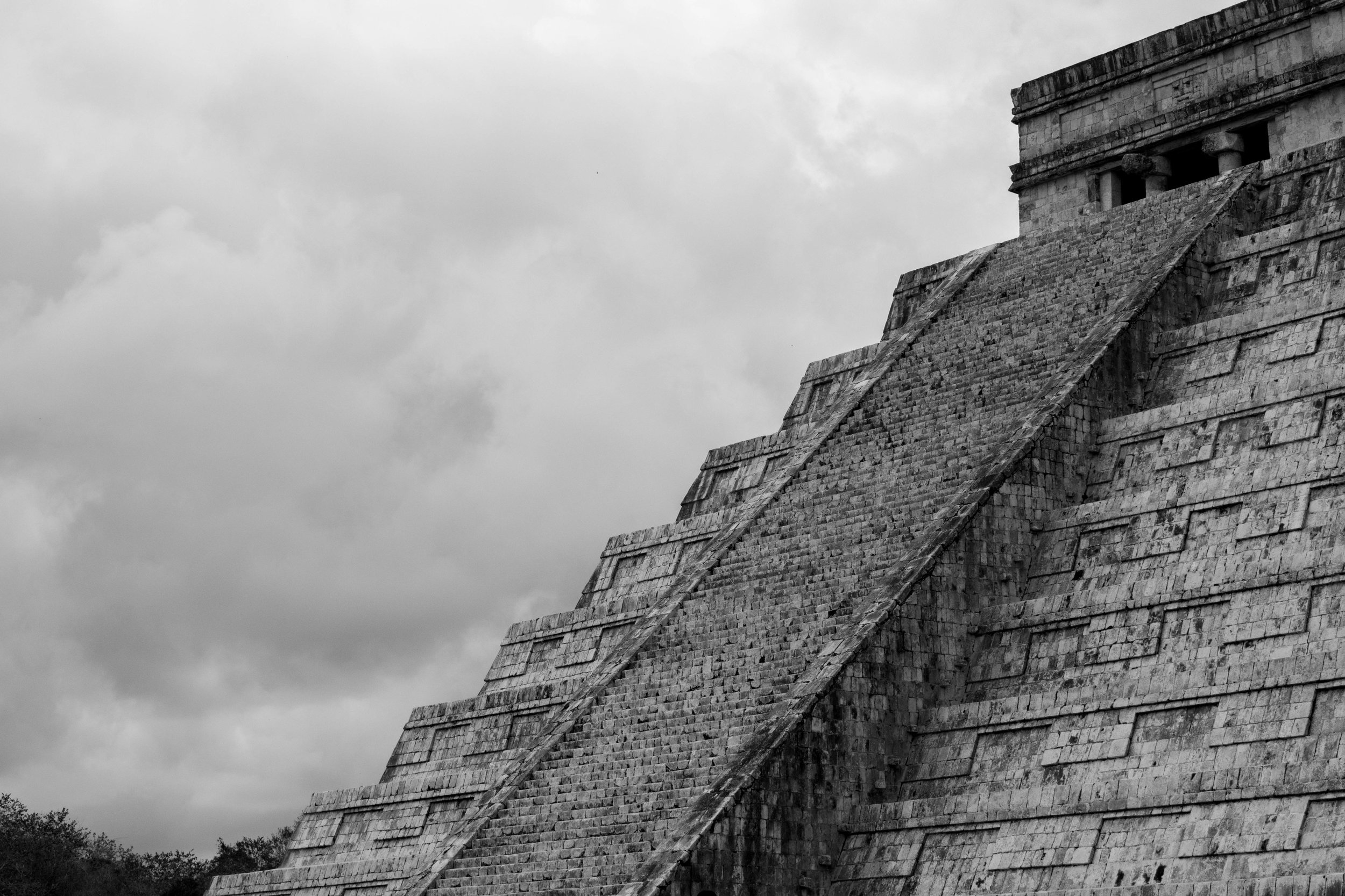 El Castillo in Chichén Itzá in Mexico