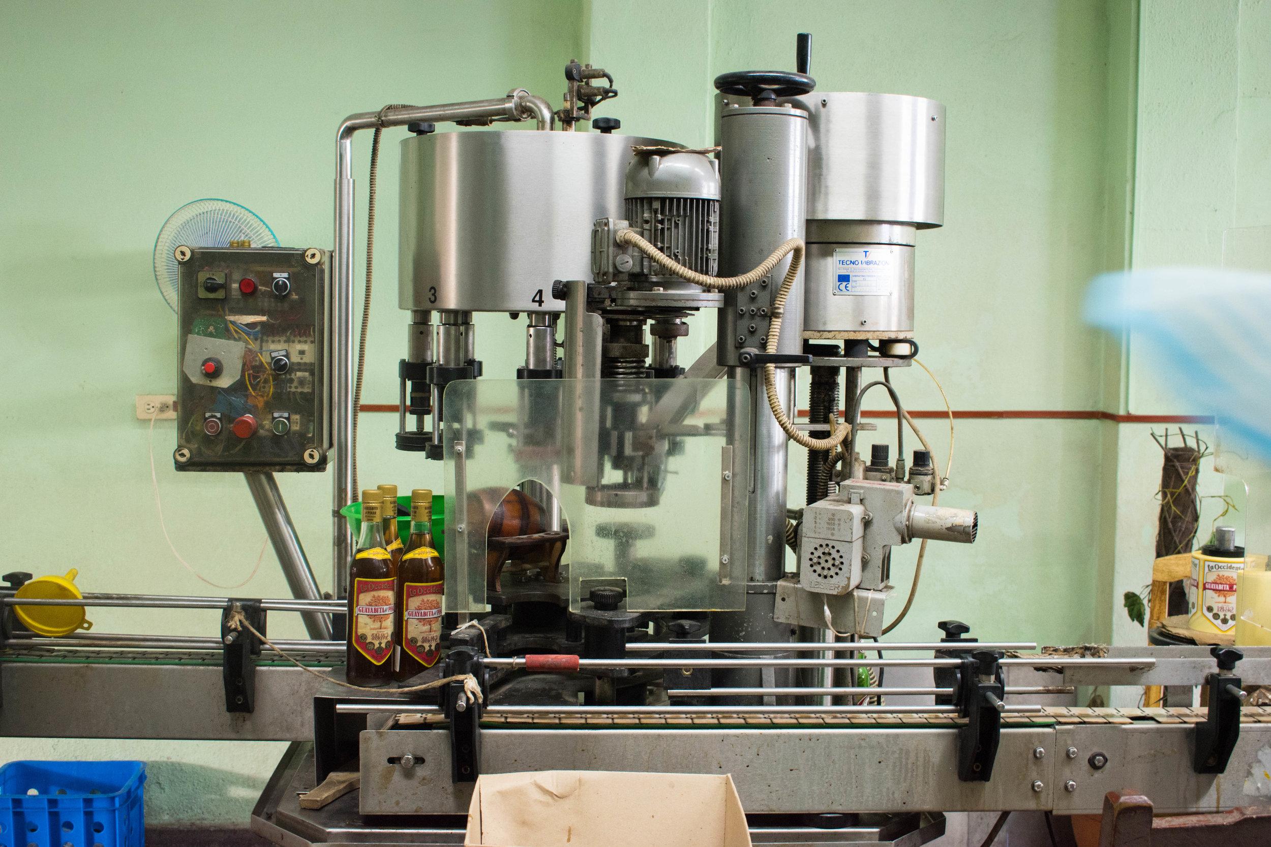 Local Liquor in Production in Viñales in Cuba
