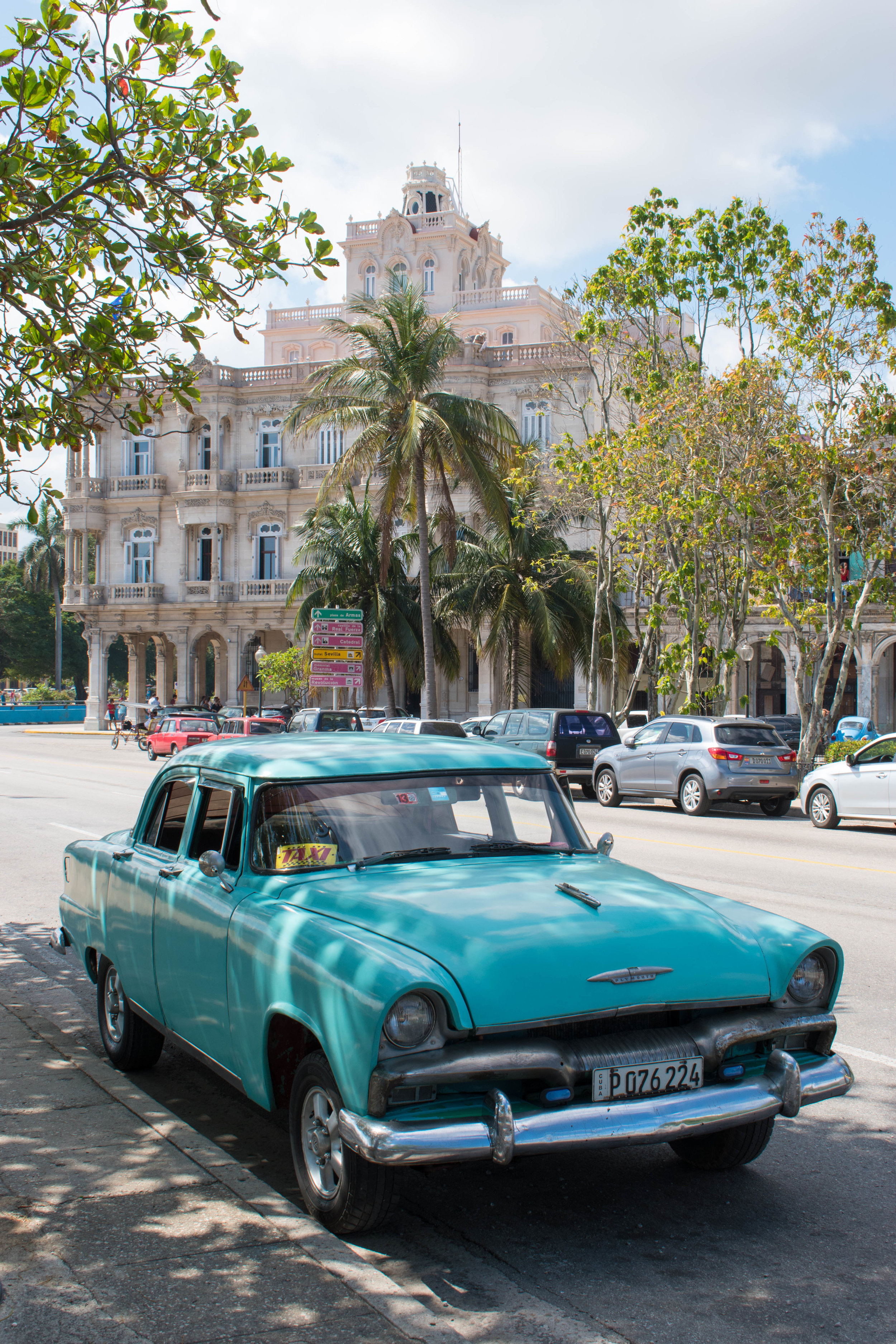 A Taxi Worth Travelling In, Havana in Cuba