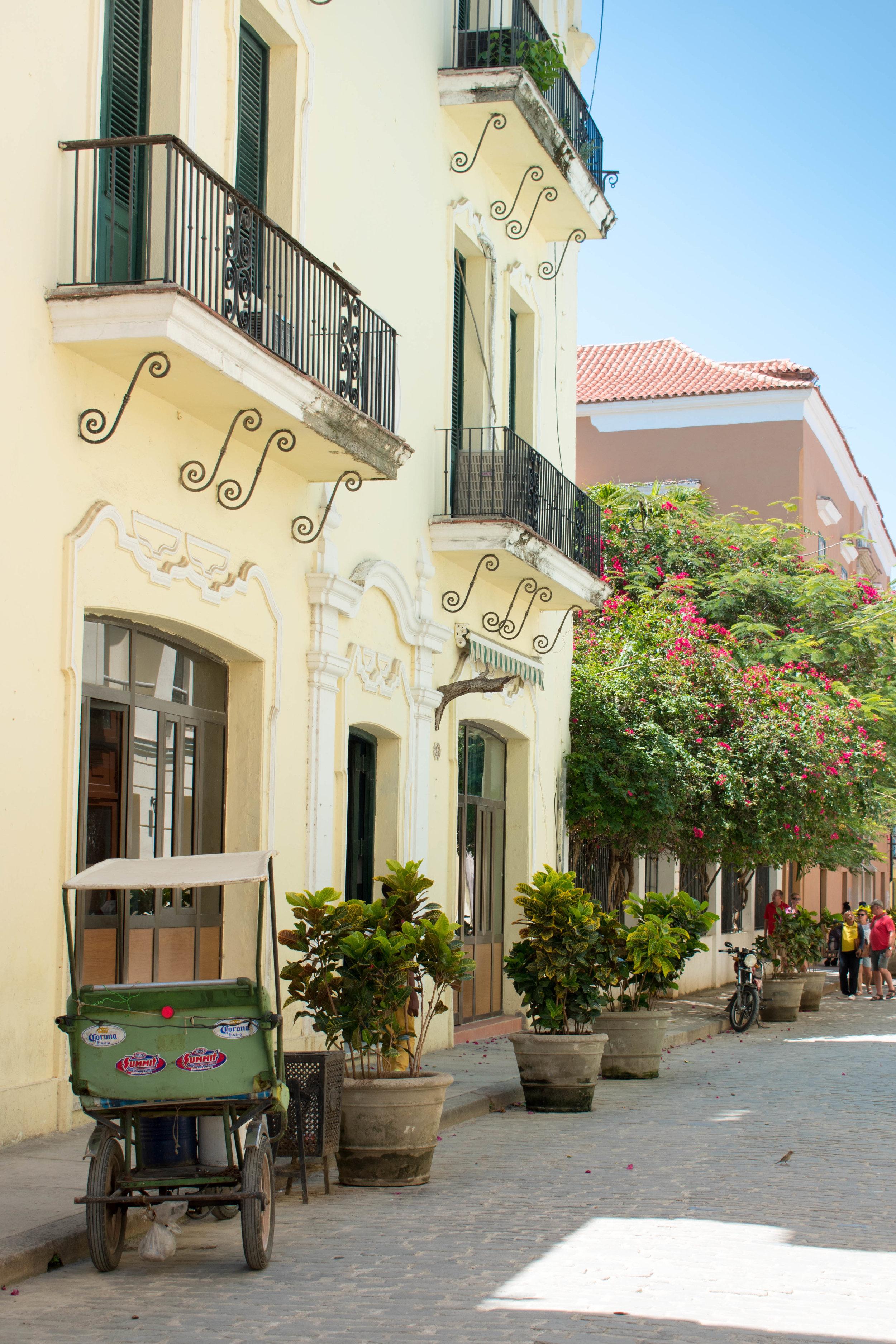 Perfectly Restored Old Havana in Cuba