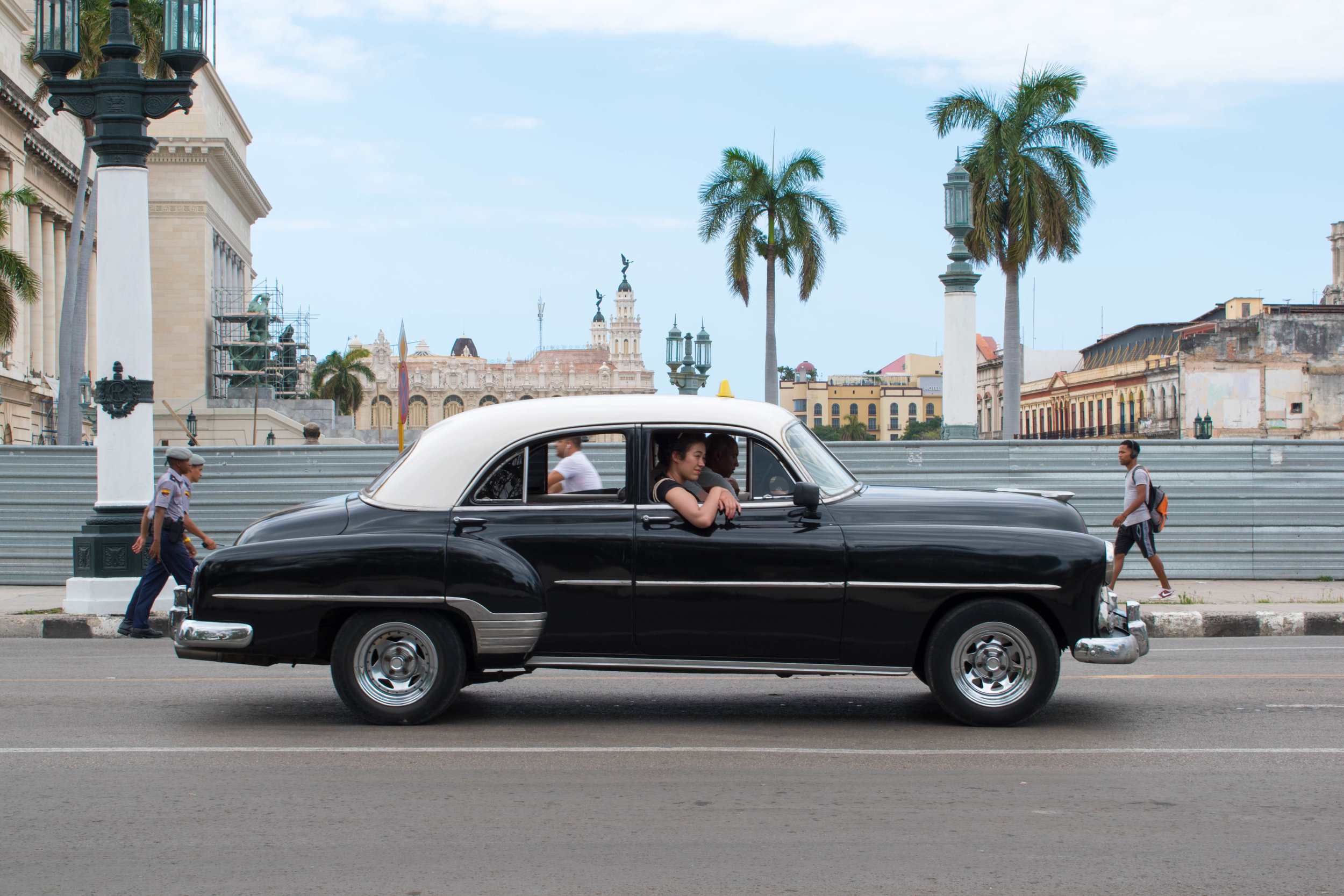 Locals Are Obliged To Pick Up Any Hitchhikers, Havana, Cuba