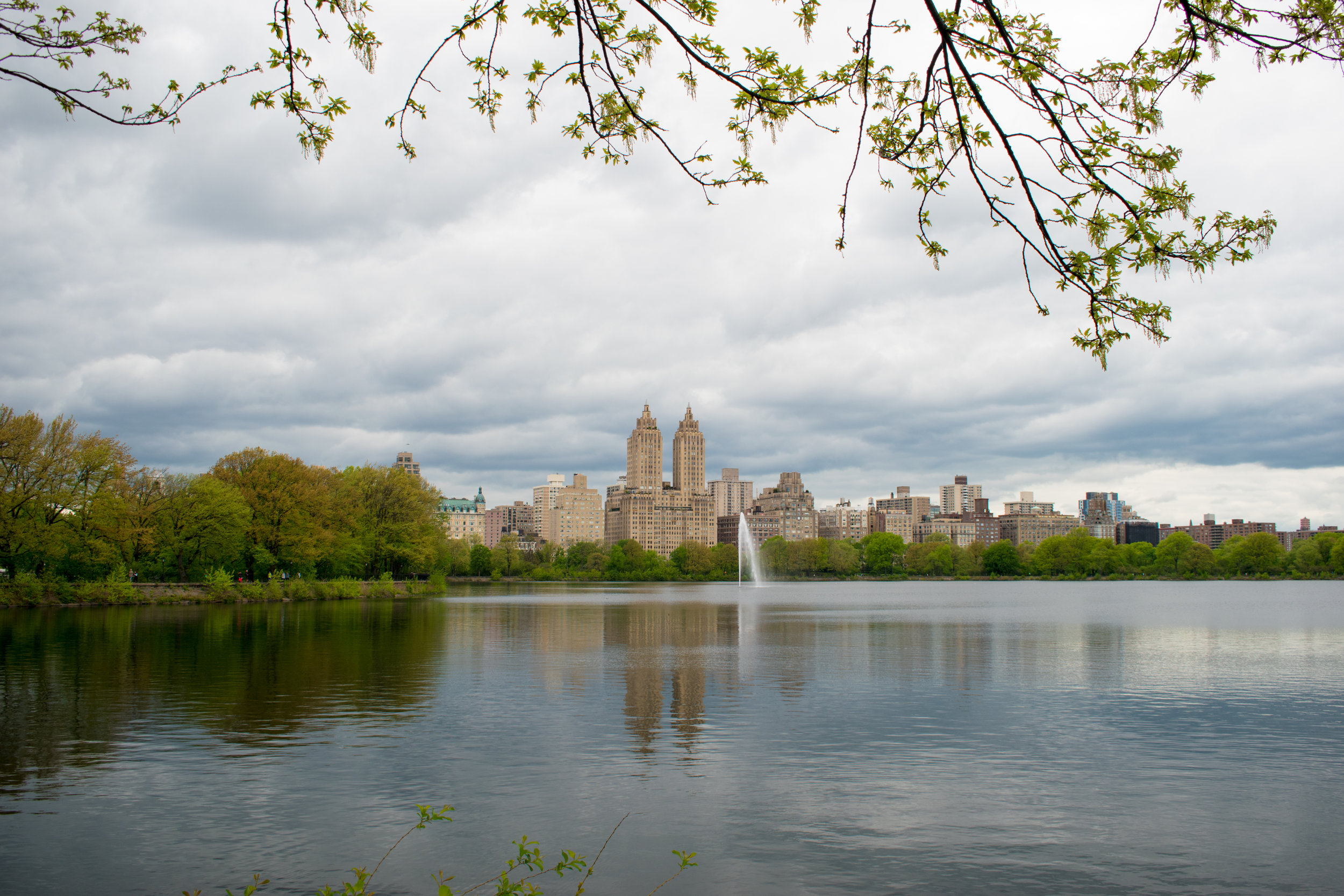The Jacqueline Kennedy Onassis Reservoir in Central Park, New York