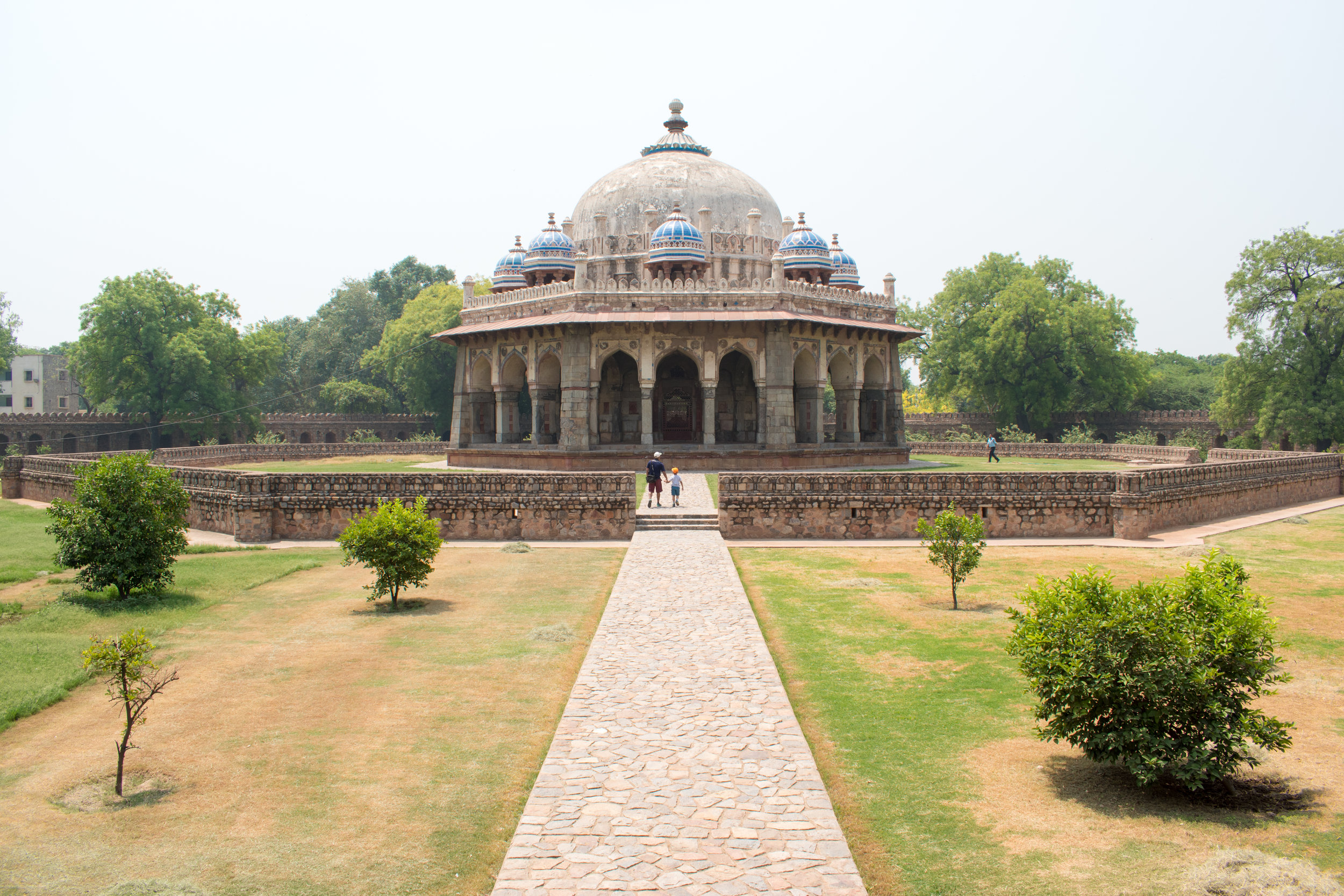In The Grounds of Humayan's Tomb in Delhi, India