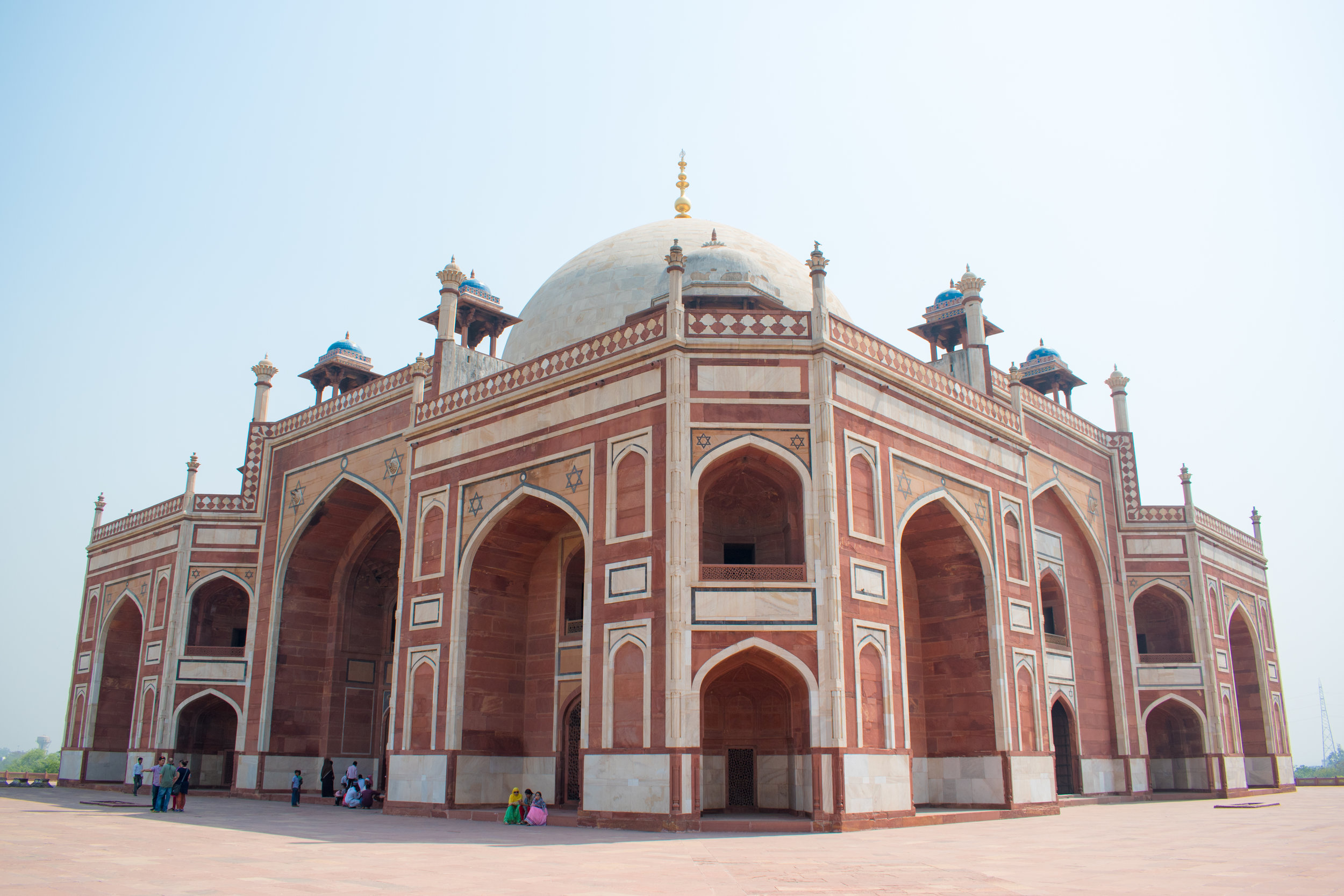 Humayan's Tomb in Delhi, India
