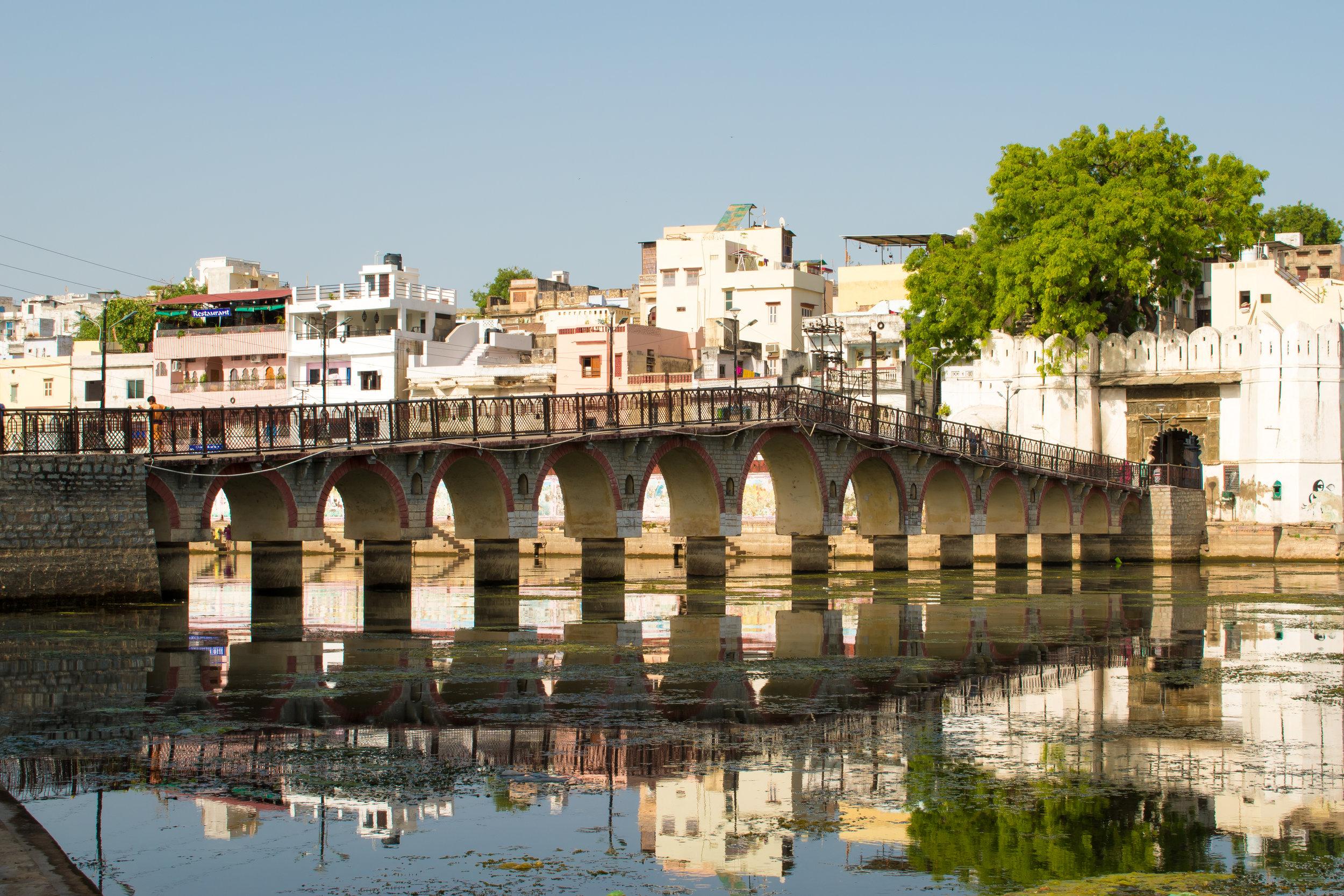 A Bridge In Udaipur, India