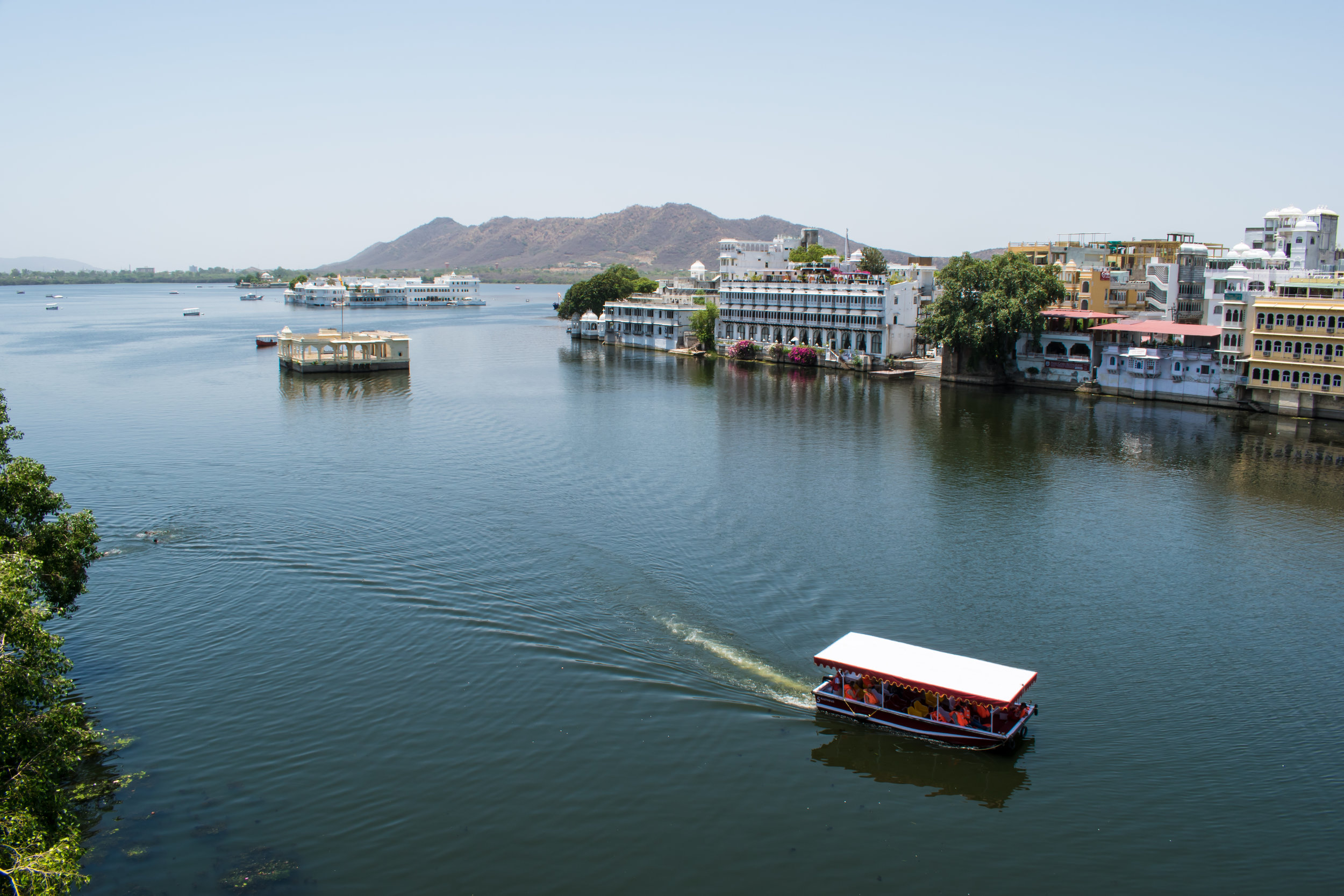 View From The Café In Udaipur, India