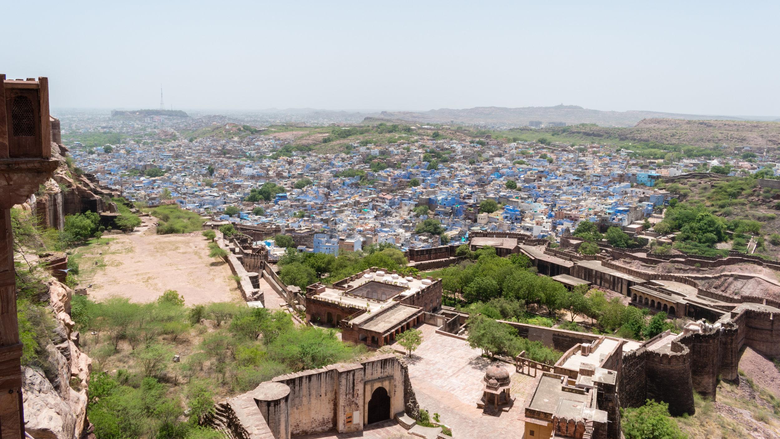 The Blue City Of Jodhpur In India