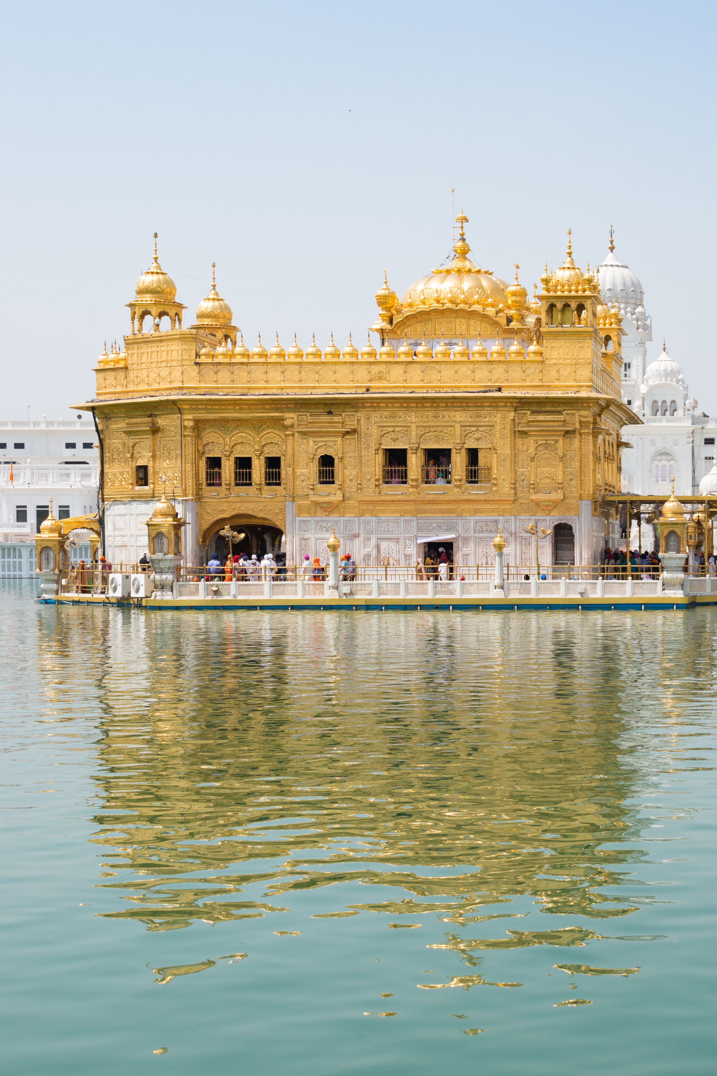 Turquoise and Gold, The Golden Temple in Amritsar, India