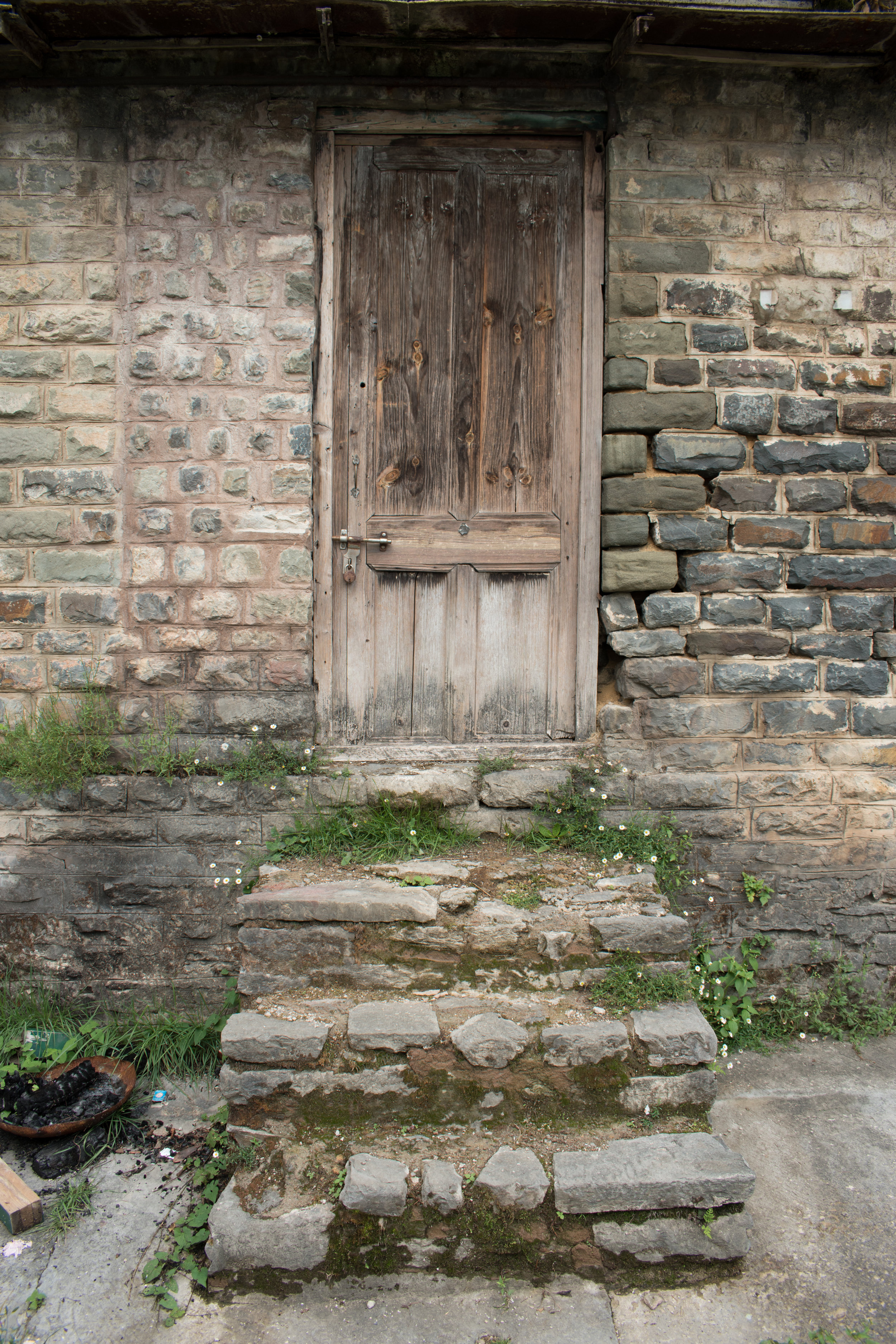 A Mysterious Doorway In Shimla, India