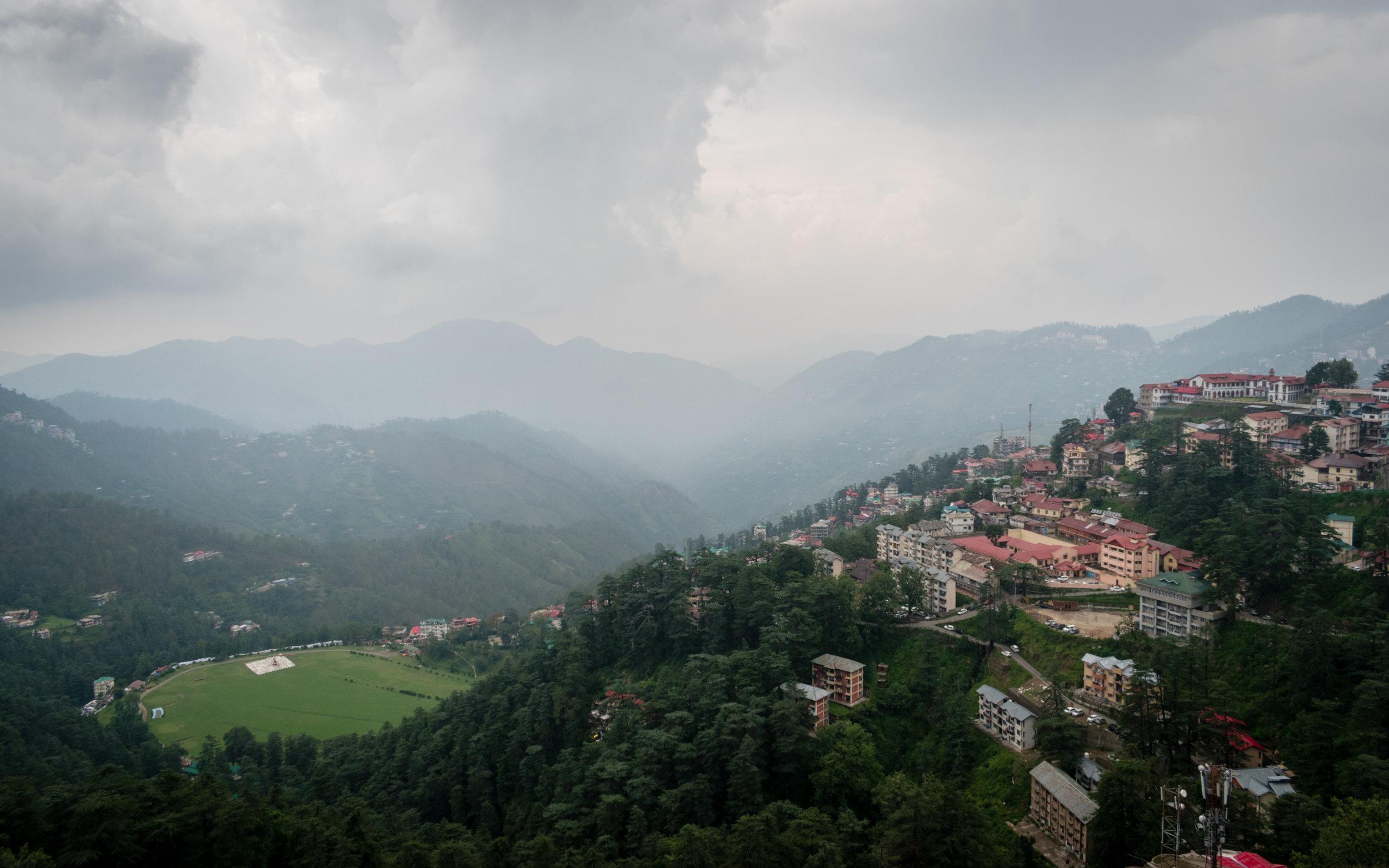 Views From Shimla, India