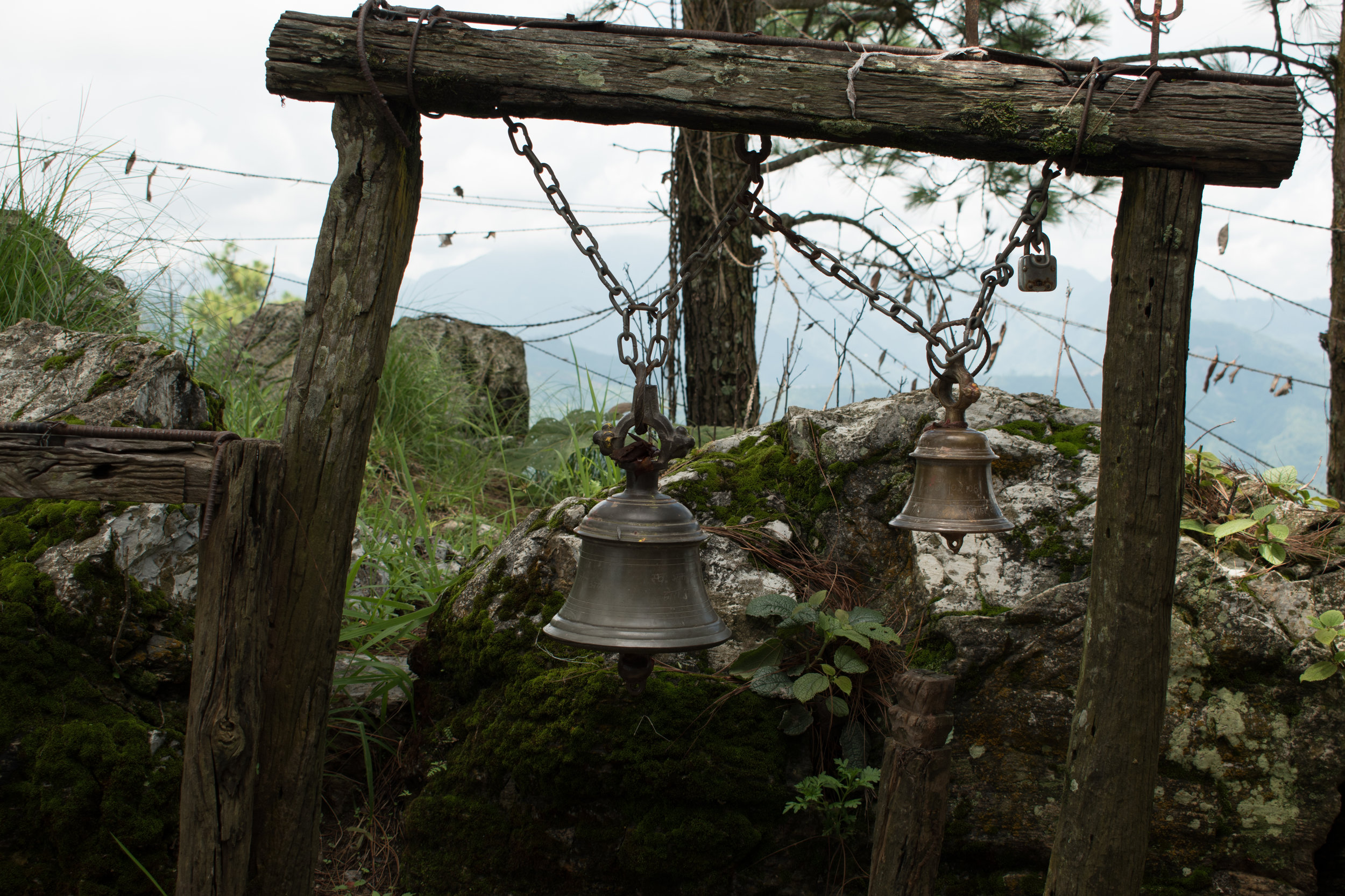 The Temple Bells in Bandipur, Nepal