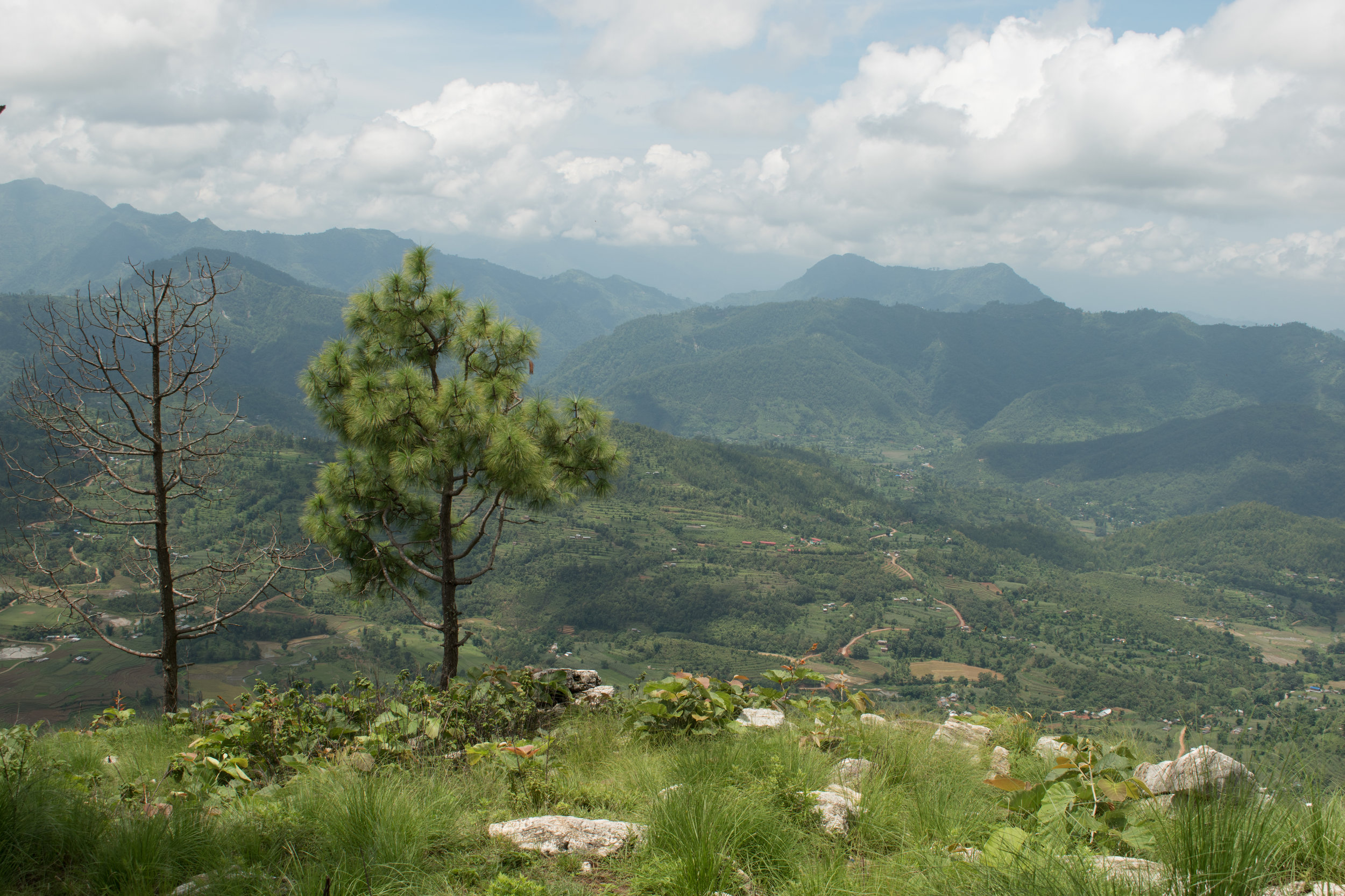 The Top Of The Viewpoint in Bandipur, Nepal