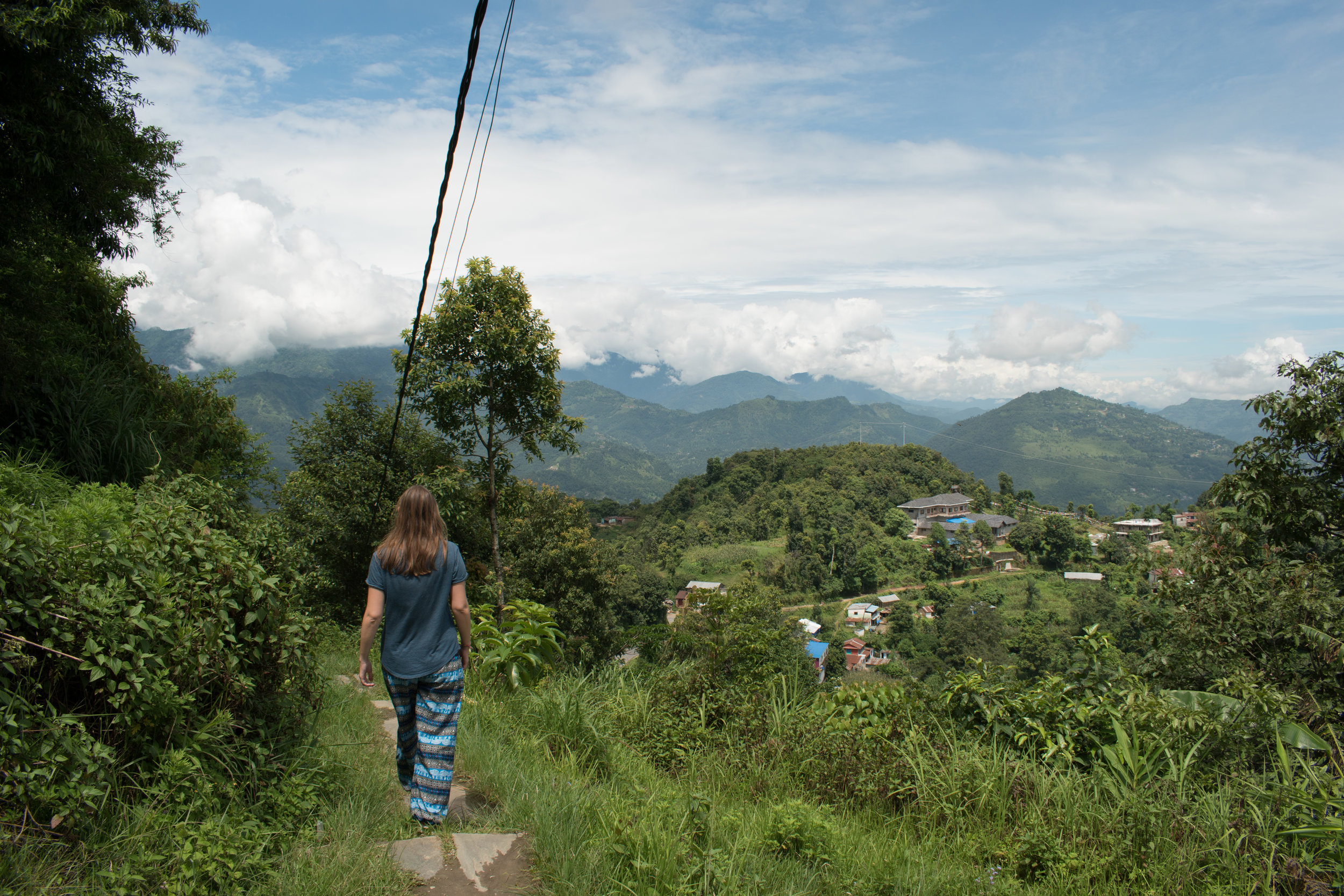 Checking Out The Views From Sarangkot in Pokhara, Nepal