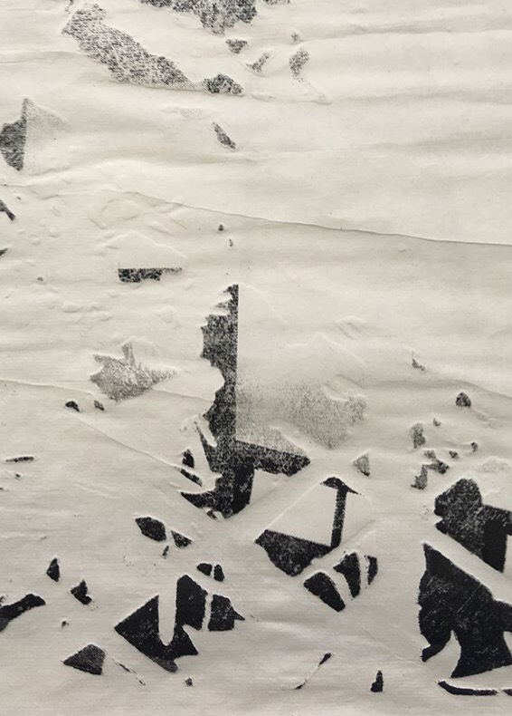 Artist Interview: Meg Fatharly -Etching And Laser Cut Experiment