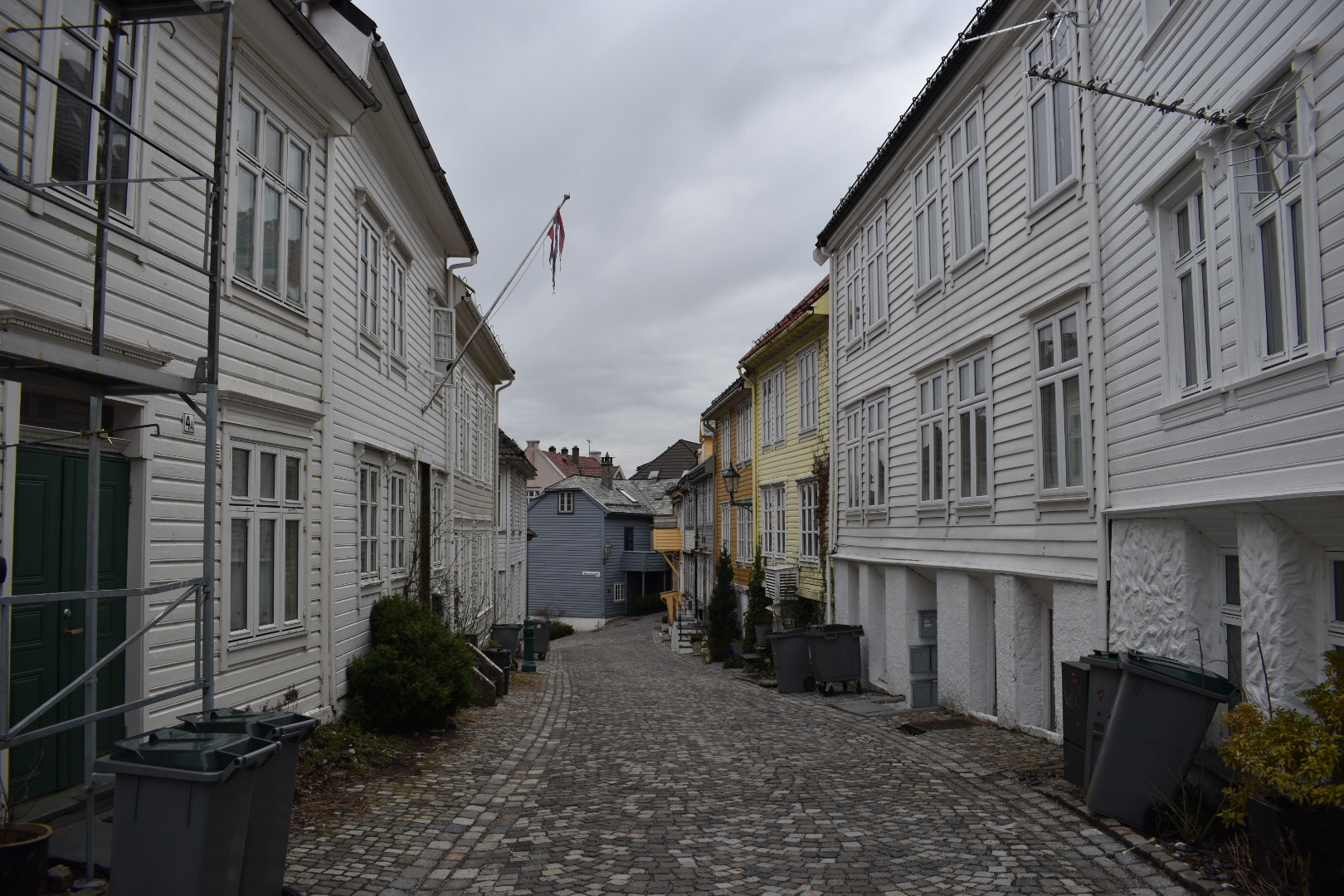Walking In Search Of Colourful Houses in Bergen, Norway