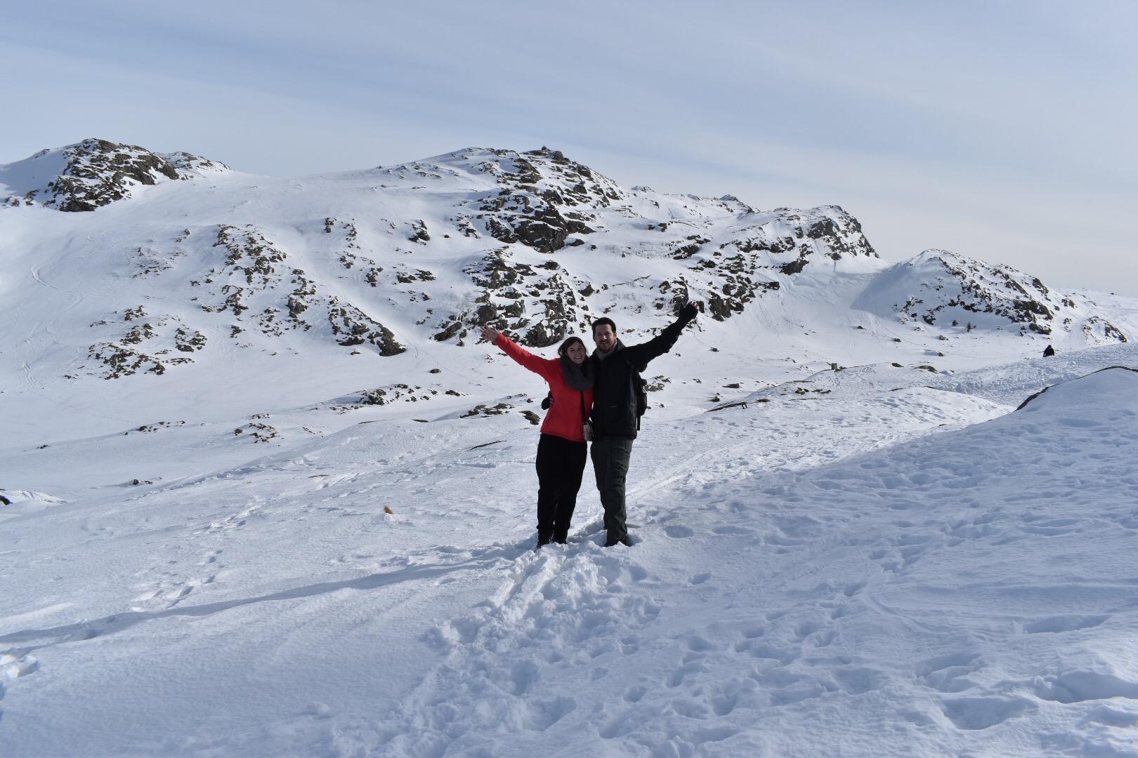 Craig and I On Top Of Bergen's Highest Mountain; Ulriken