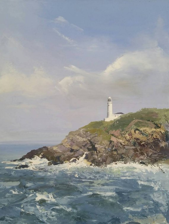 Trevose Head Lighthouse by Tom Gowen