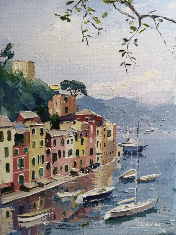 Portofino by Tom Gowen