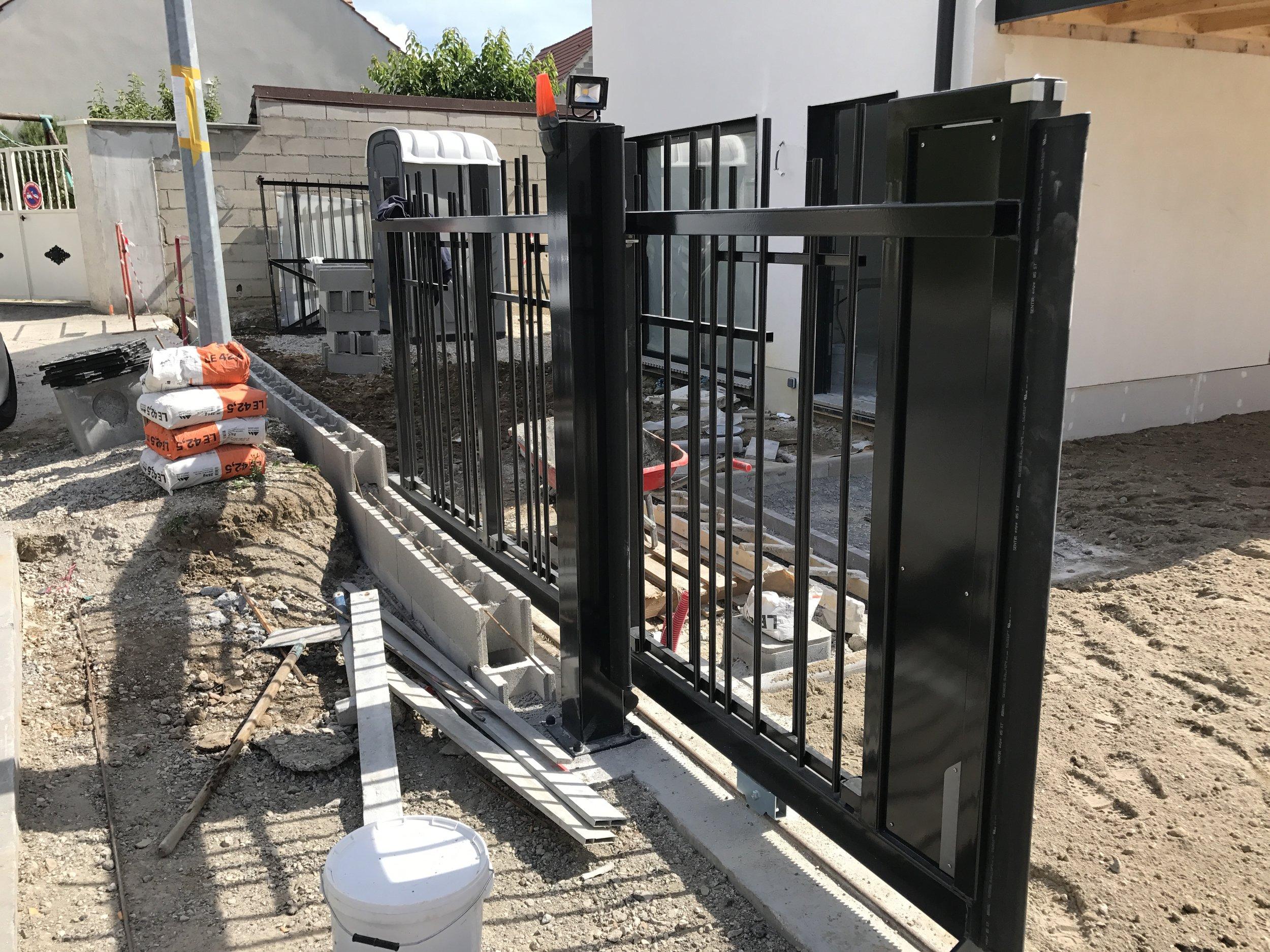 Installation du portail