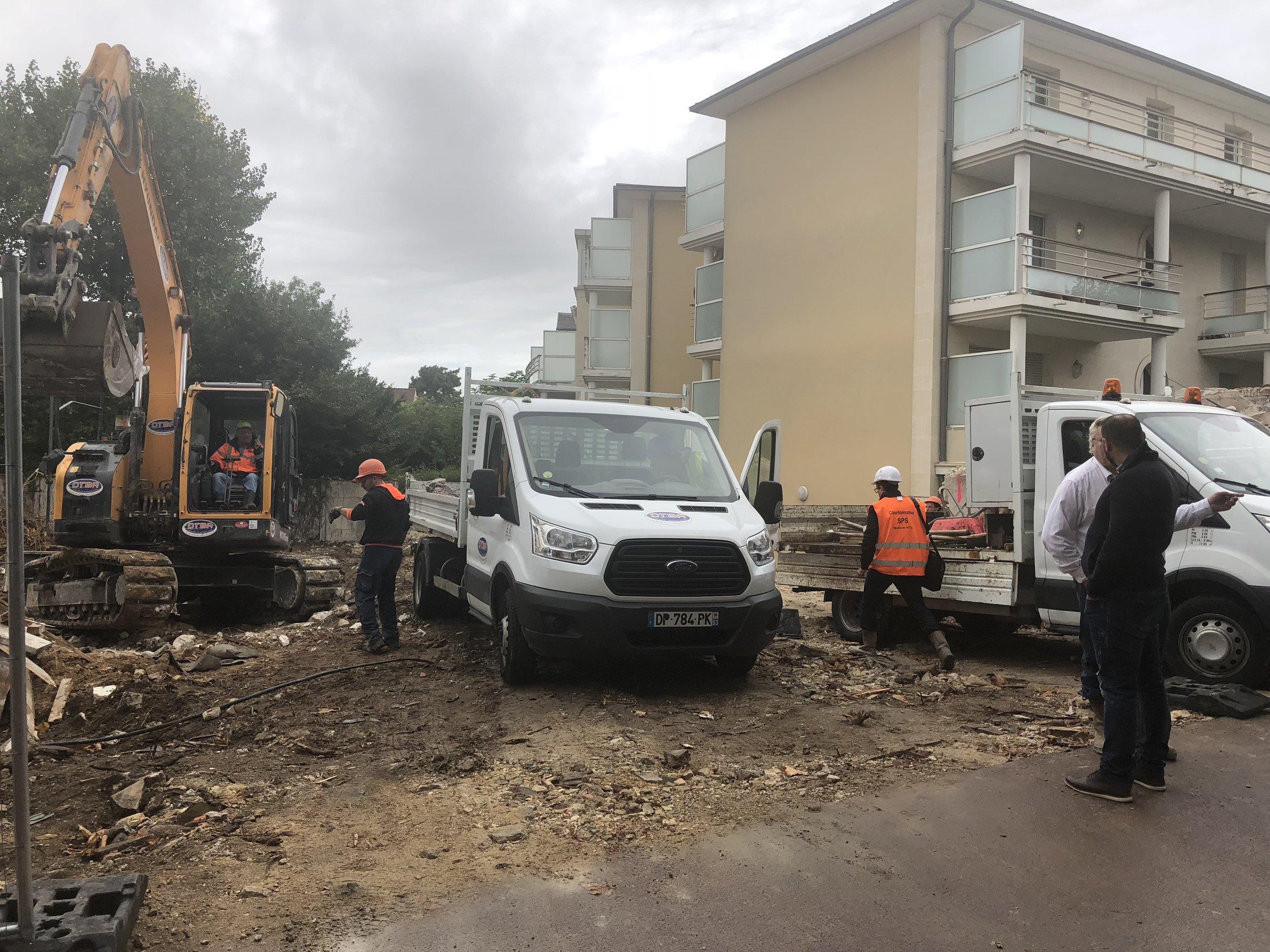 Fin de la démolition
