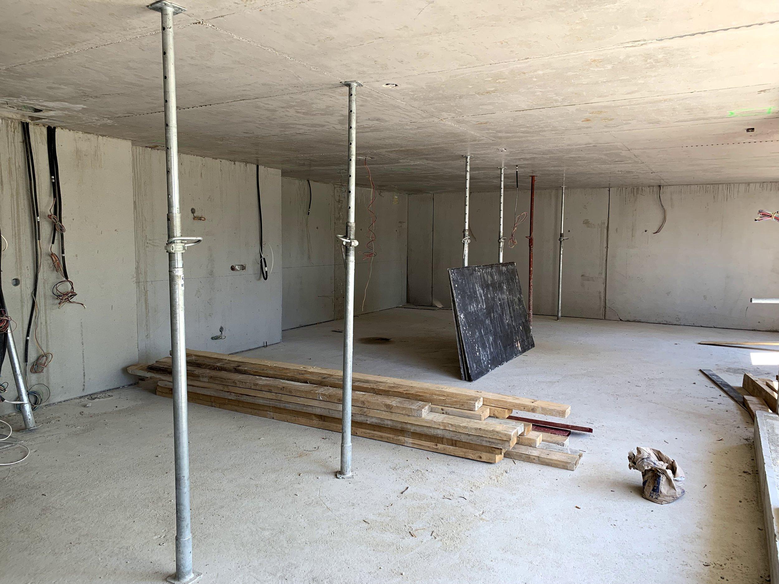 Intérieur brut logement