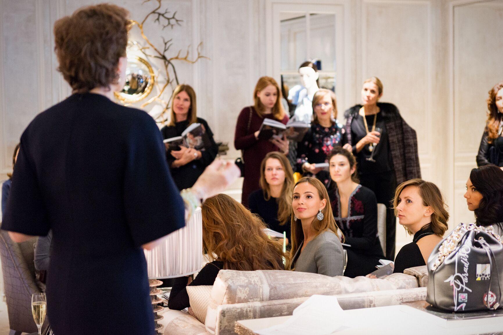 Soirée at Dior with Natasha Fraser-Cavassoni